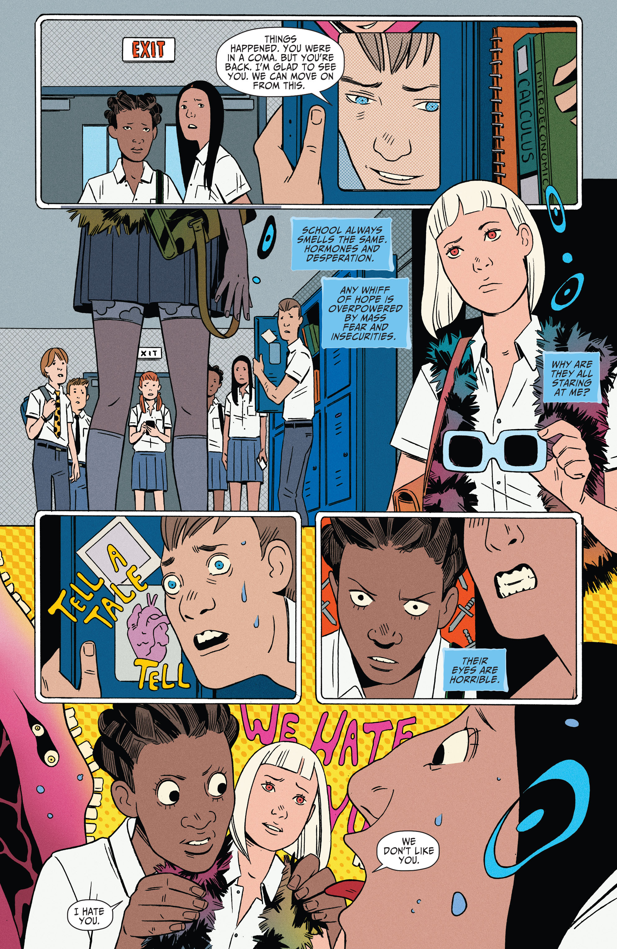 Read online Shade, the Changing Girl comic -  Issue #2 - 9