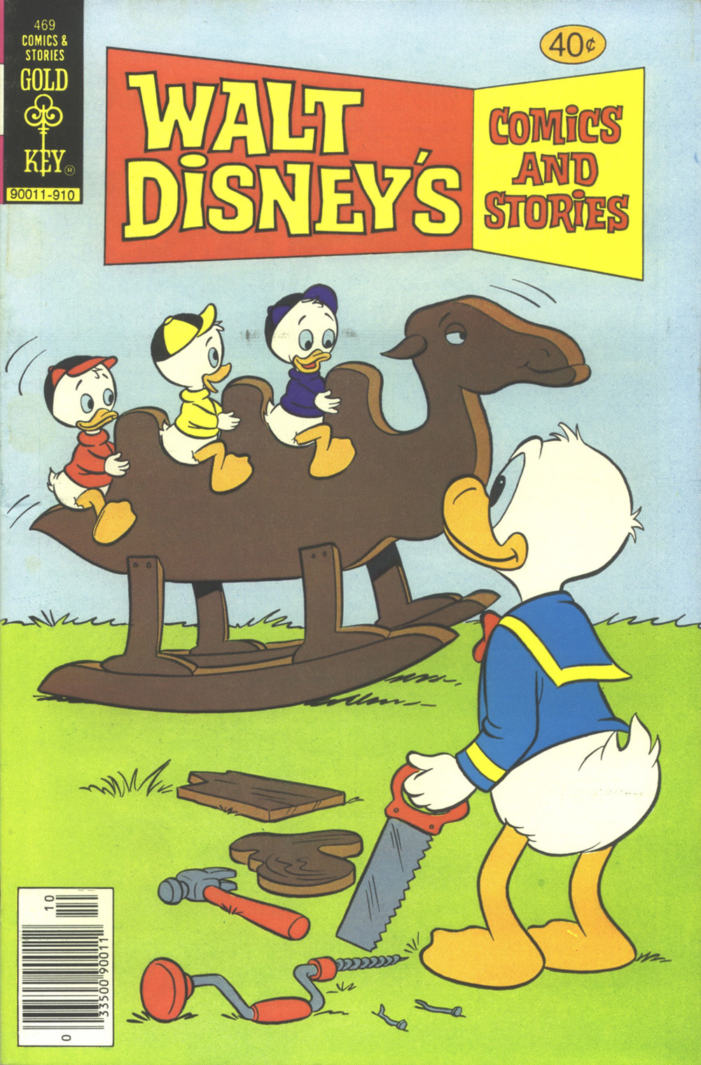 Walt Disney's Comics and Stories issue 469 - Page 1