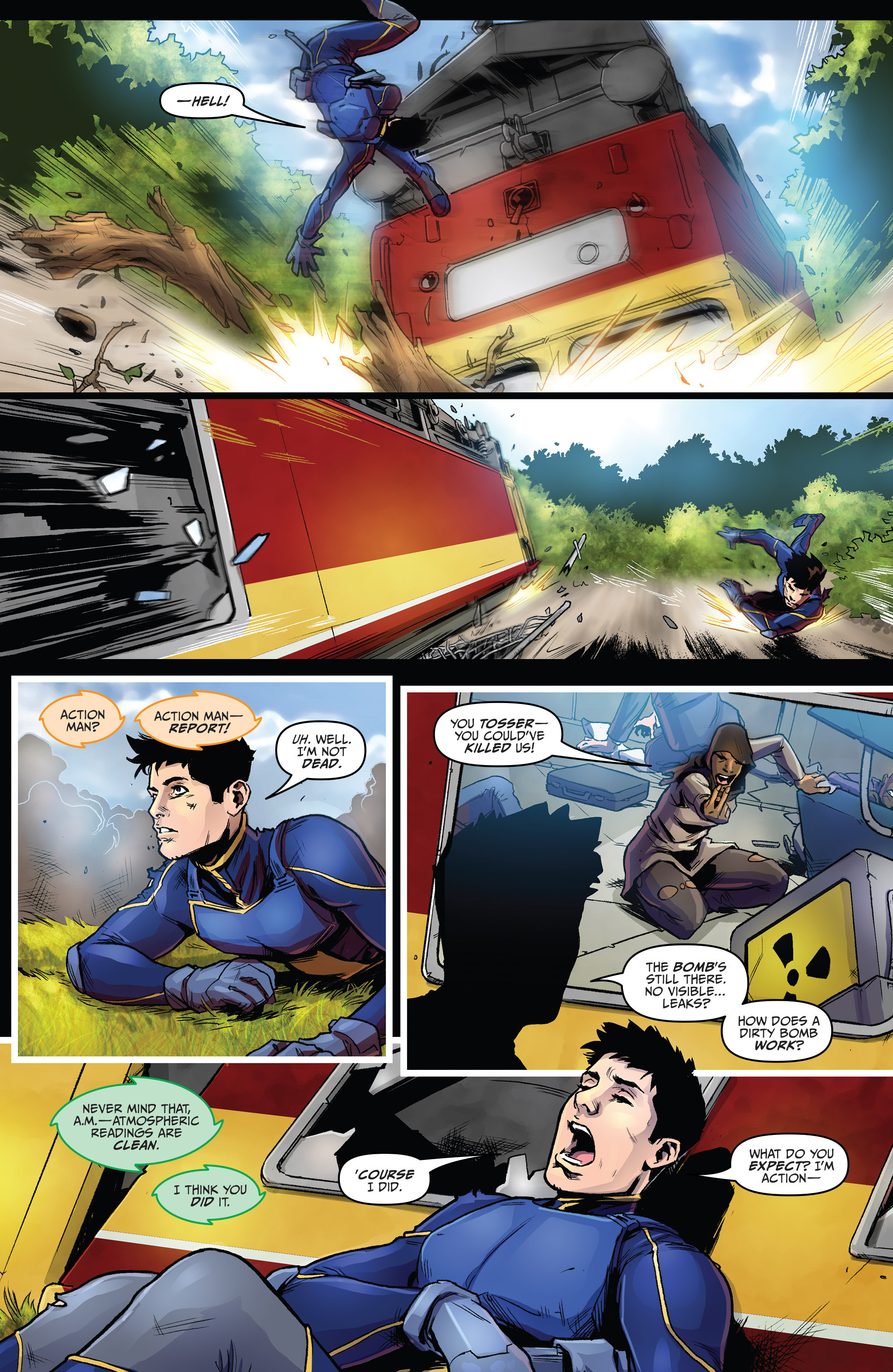 Read online Action Man comic -  Issue #1 - 15