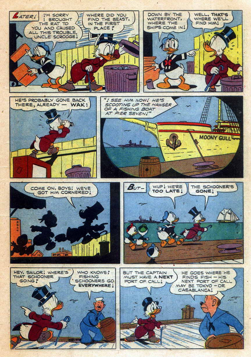 Read online Uncle Scrooge (1953) comic -  Issue #9 - 7