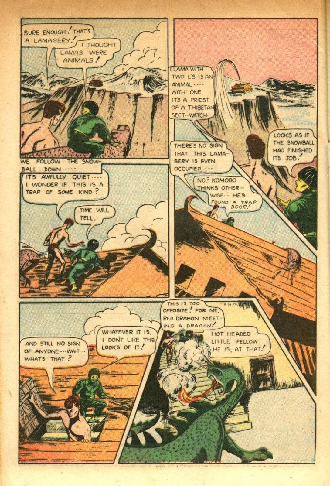 Read online Super-Magician Comics comic -  Issue #51 - 30