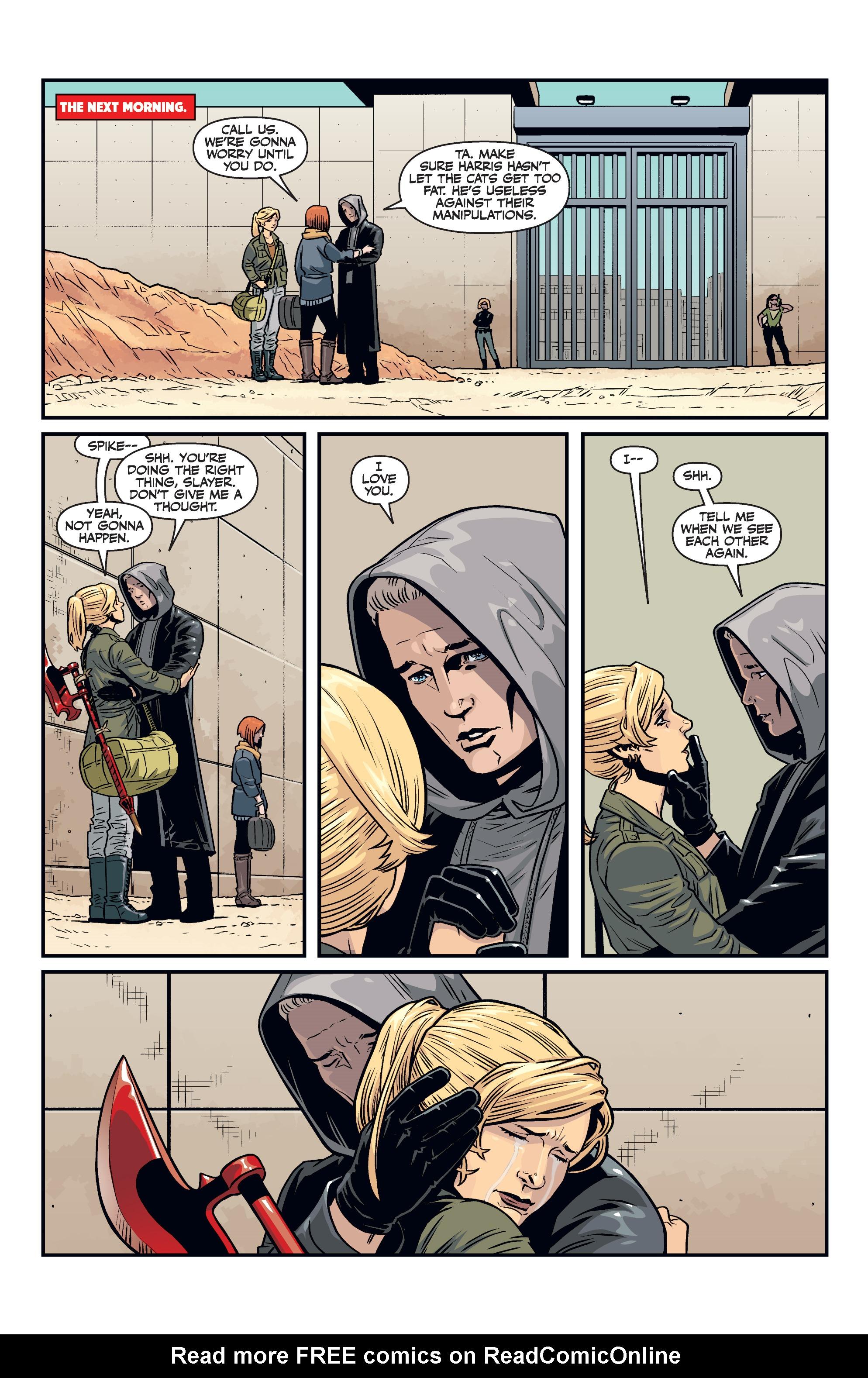 Read online Buffy the Vampire Slayer Season 11 comic -  Issue #7 - 21
