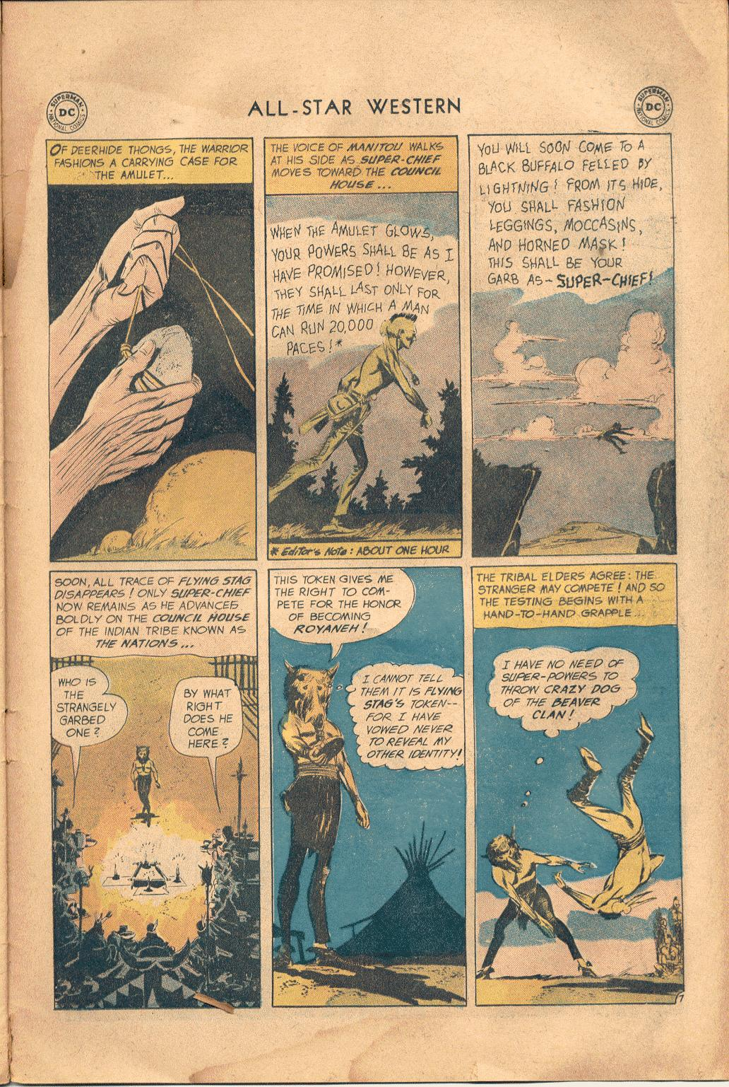 Read online All-Star Western (1951) comic -  Issue #117 - 26