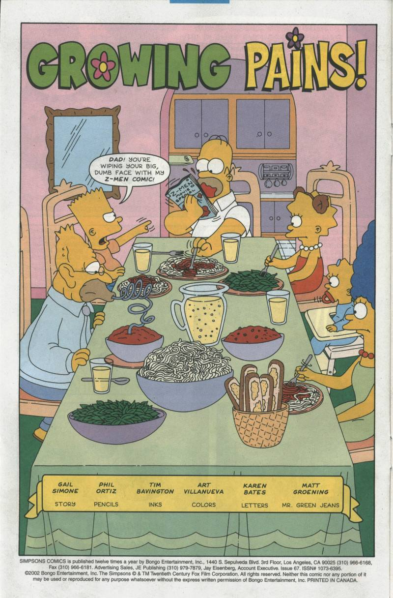 Read online Simpsons Comics comic -  Issue #67 - 3