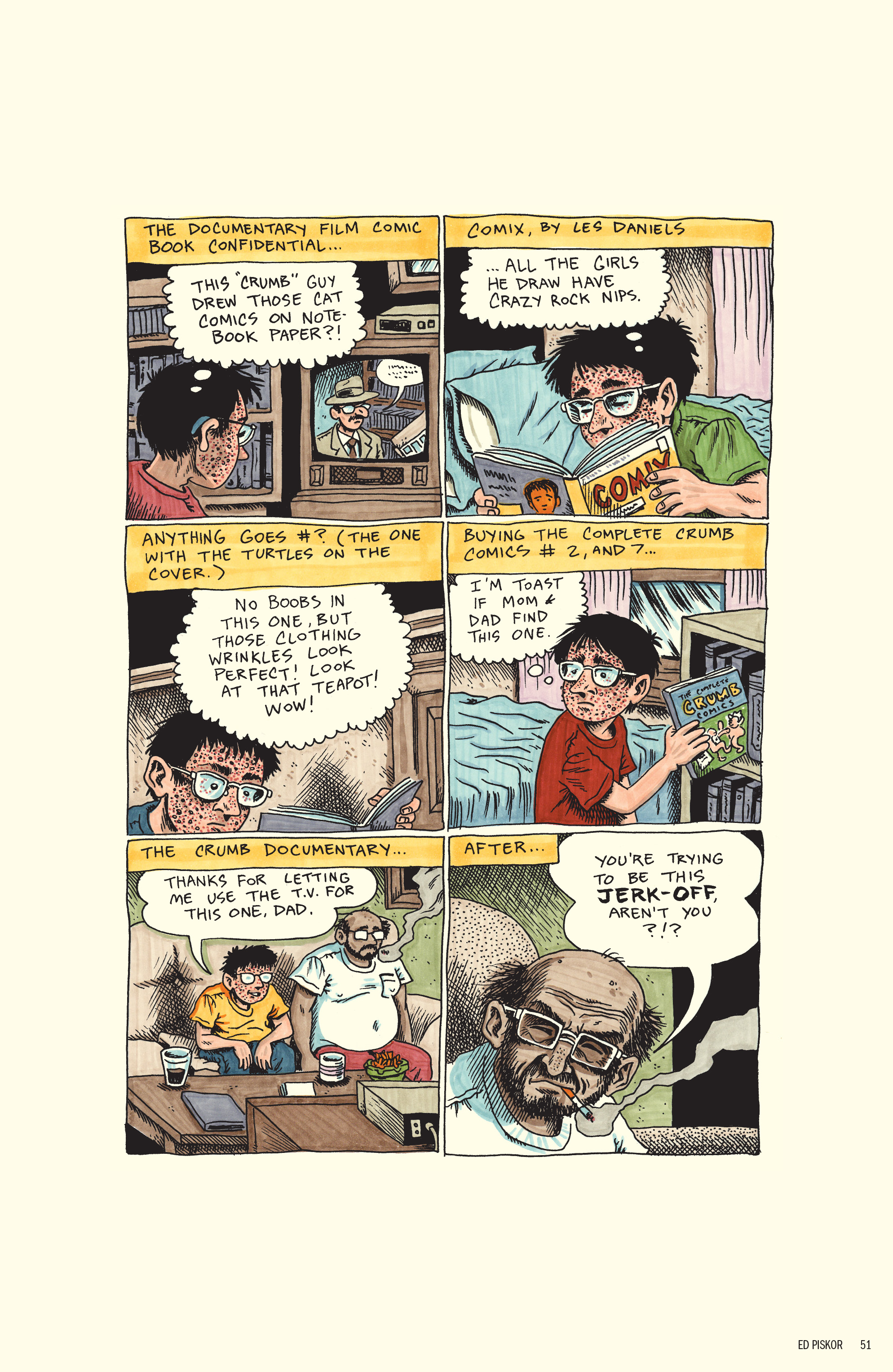 Read online Free Comic Book Day 2017 comic -  Issue # World's Greatest Cartoonists - 52
