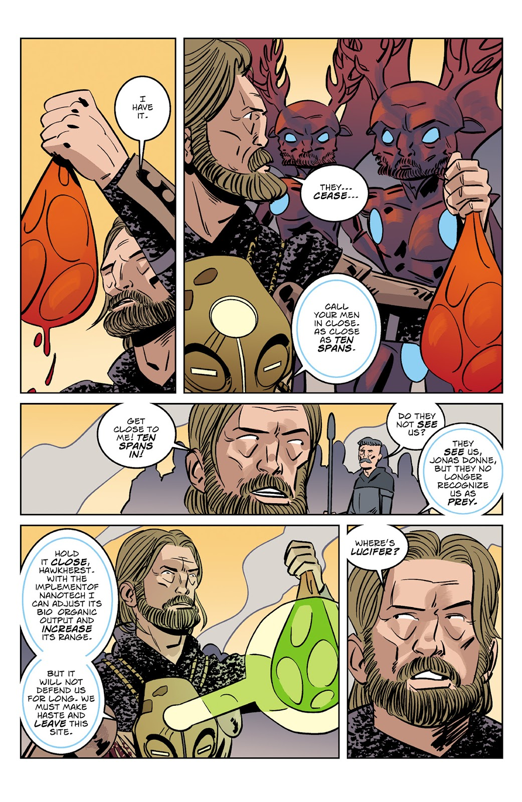 Read online Dark Ages comic -  Issue #4 - 16