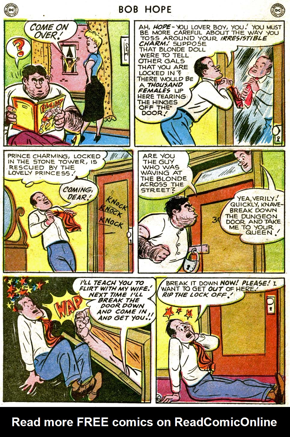 The Adventures of Bob Hope issue 1 - Page 42