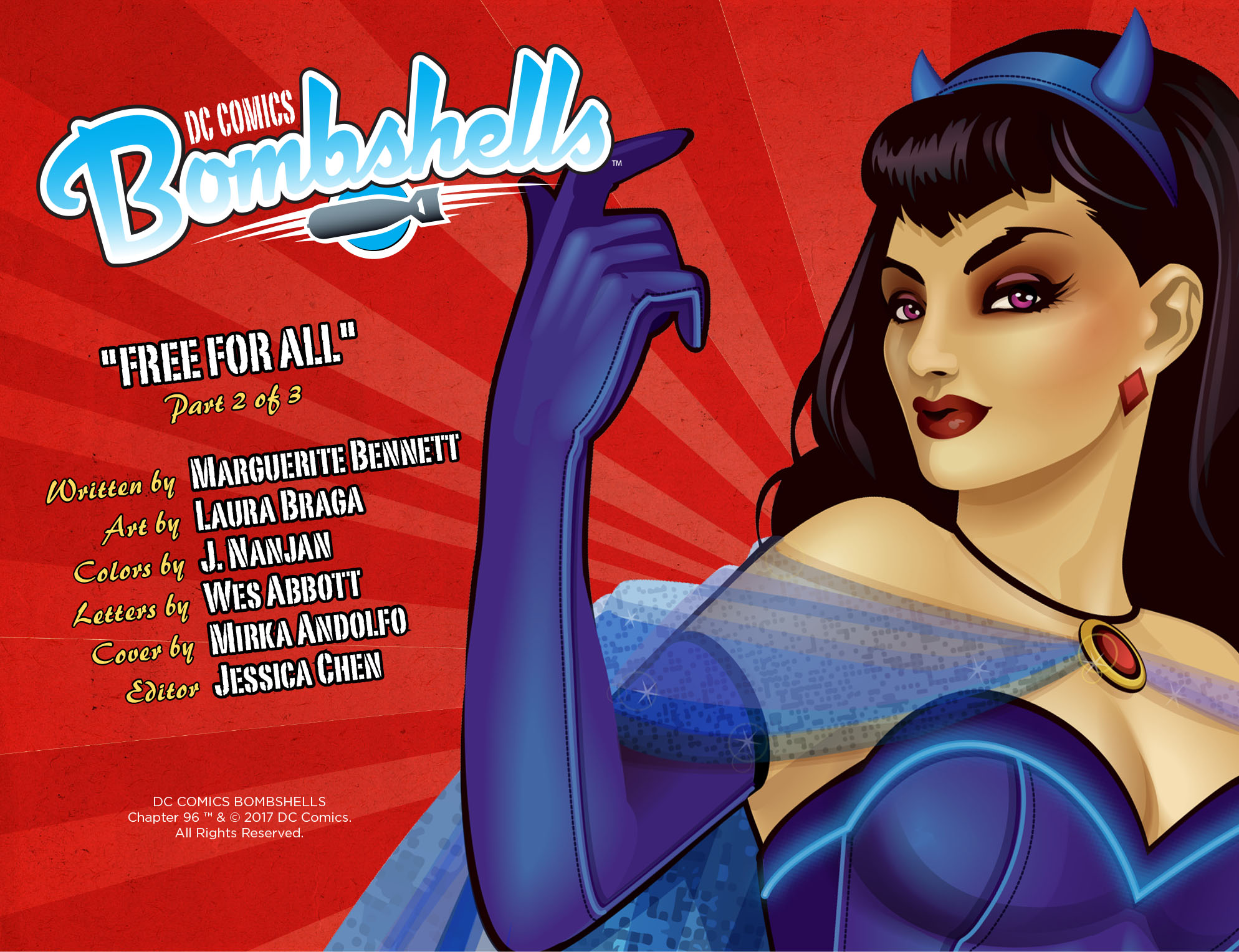 Read online DC Comics: Bombshells comic -  Issue #96 - 3