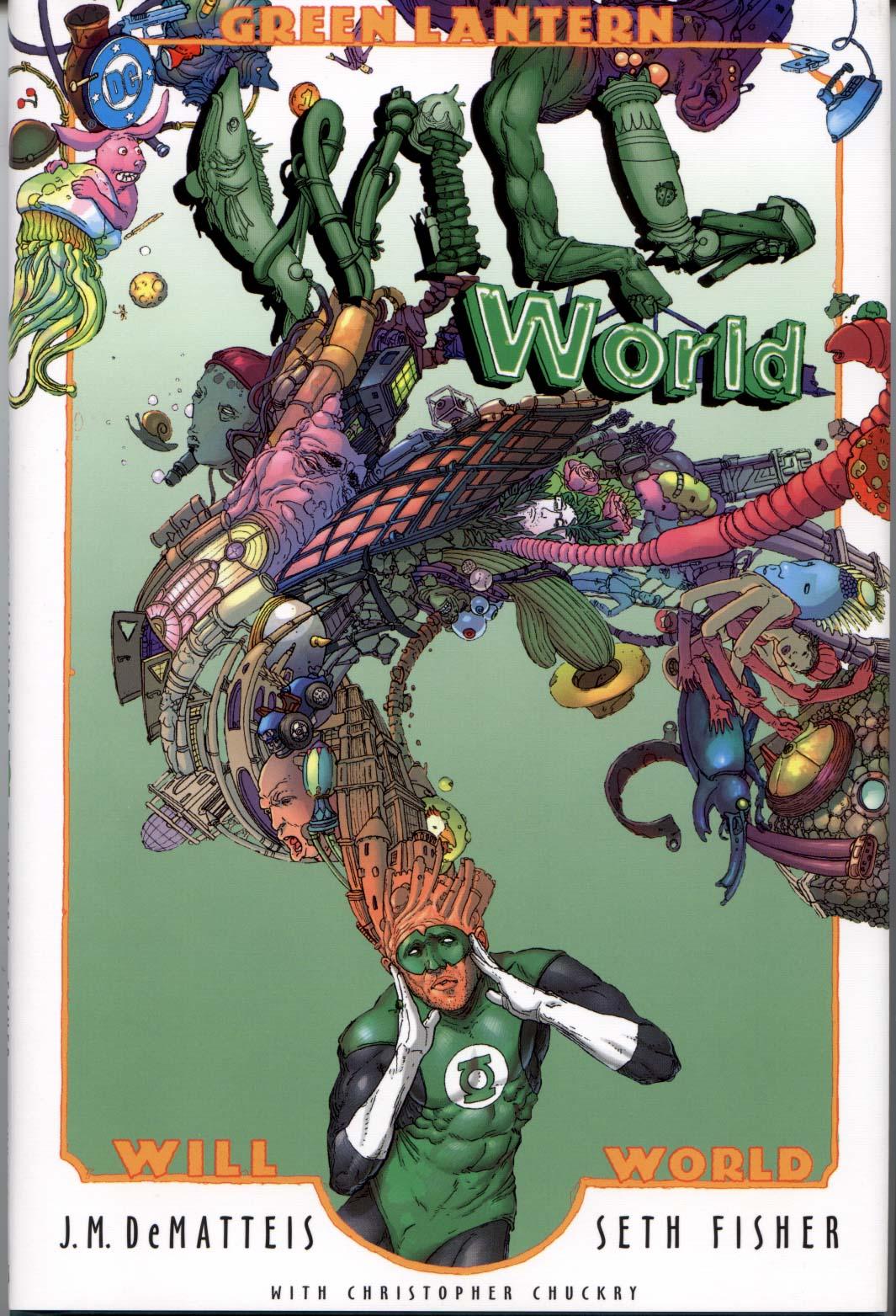 Green Lantern: Willworld TPB Page 1