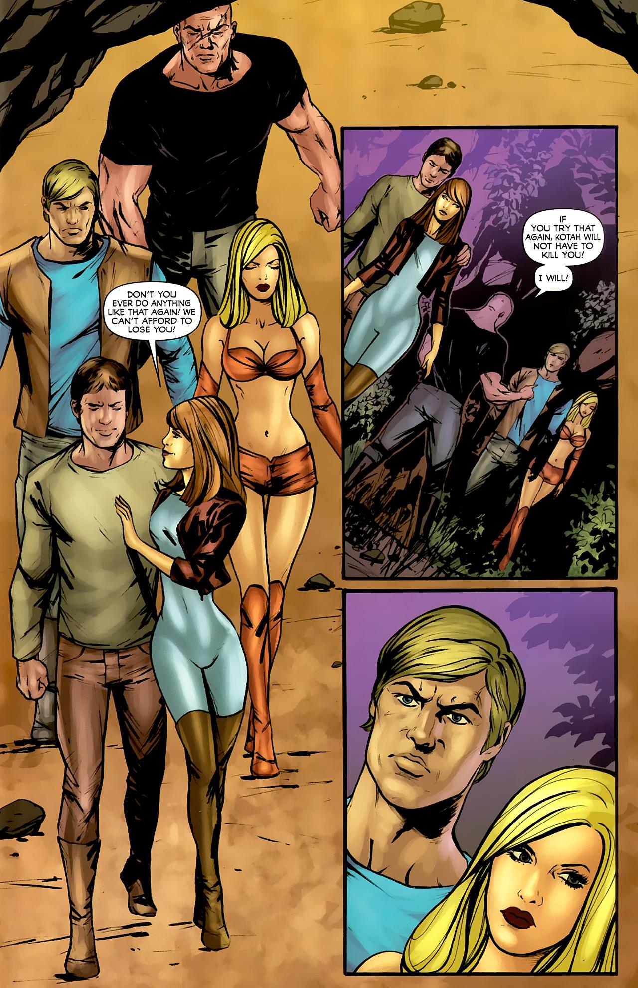 Read online Stargate: Daniel Jackson comic -  Issue #4 - 9