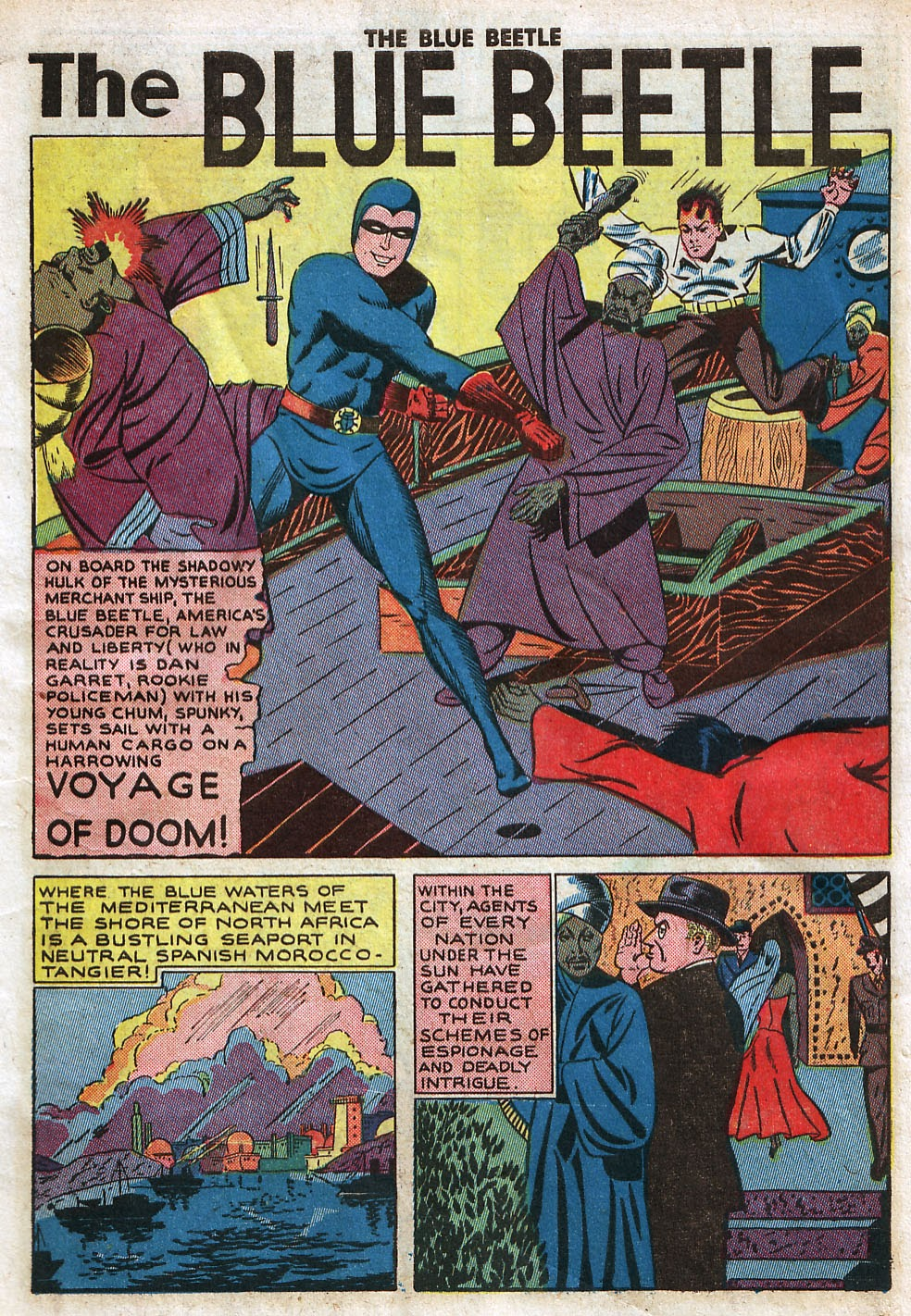 The Blue Beetle issue 33 - Page 3