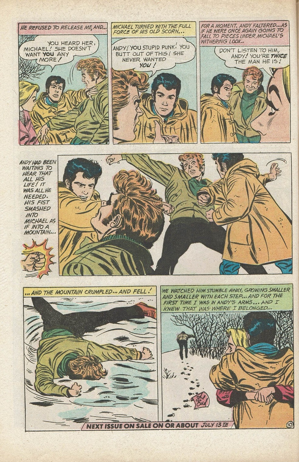 Read online Secret Hearts comic -  Issue #153 - 32