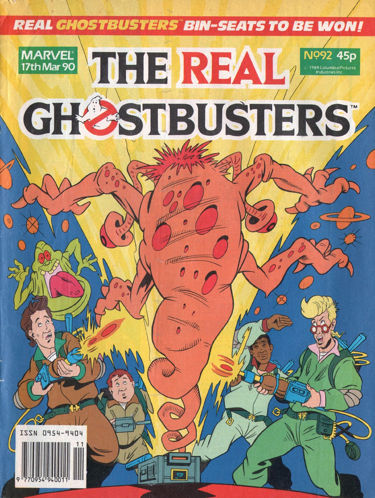 The Real Ghostbusters 92 Page 1