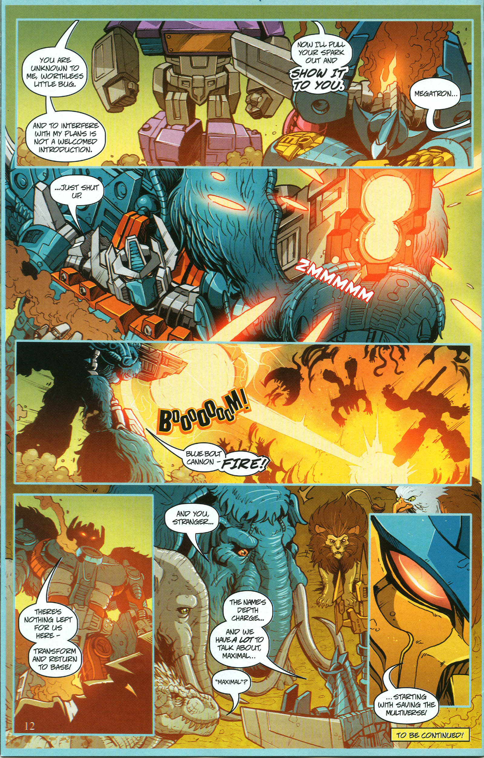 Read online Transformers: Collectors' Club comic -  Issue #50 - 12