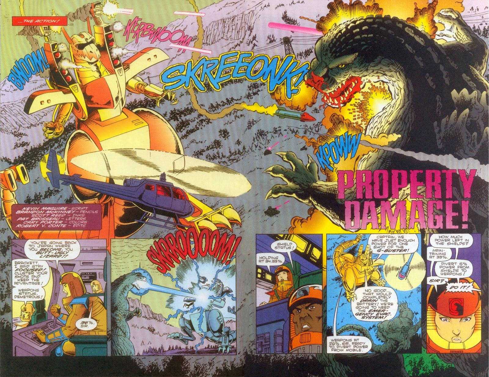 Godzilla (1995) Issue #2 #3 - English 4