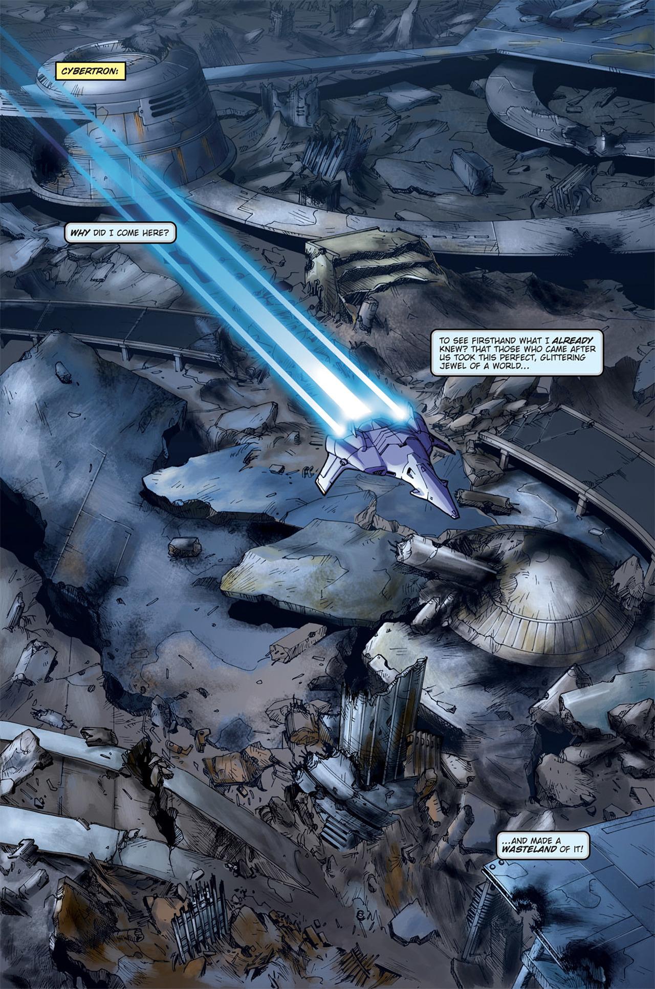 Read online Transformers Spotlight: Cyclonus comic -  Issue # Full - 5