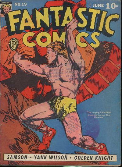 Fantastic Comics 19 Page 1