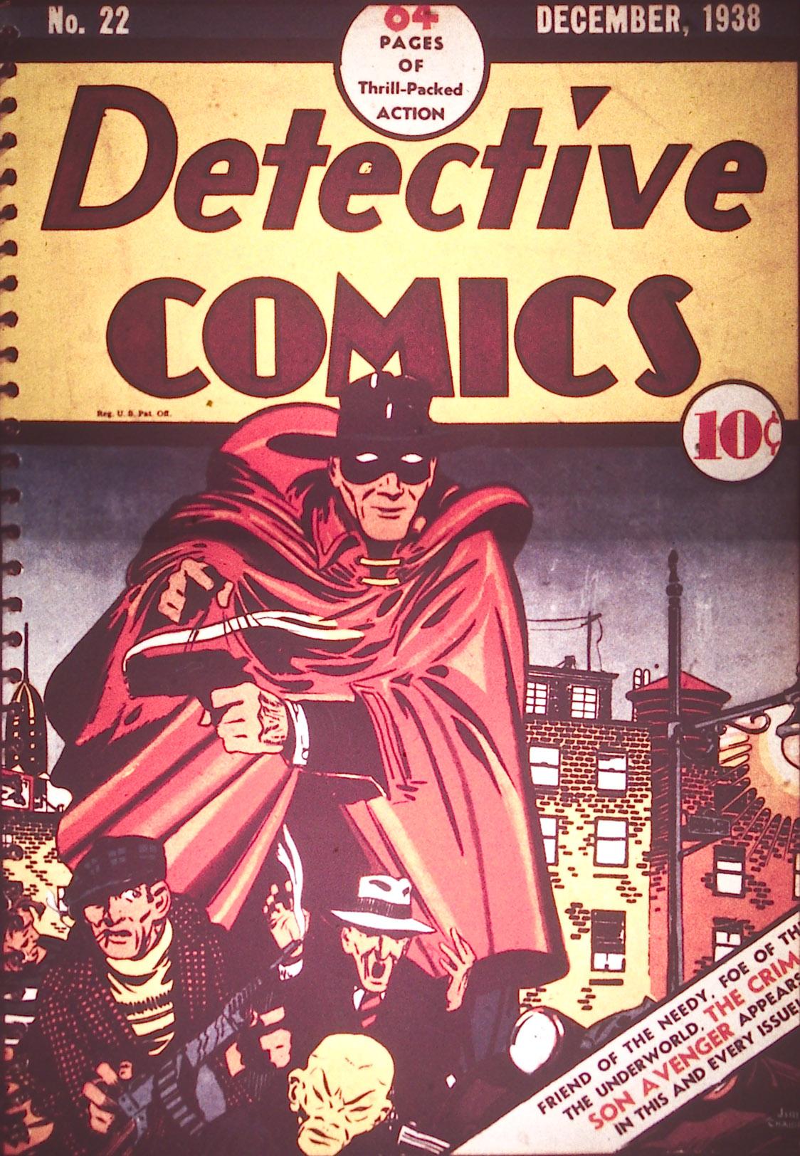 Detective Comics (1937) 22 Page 0