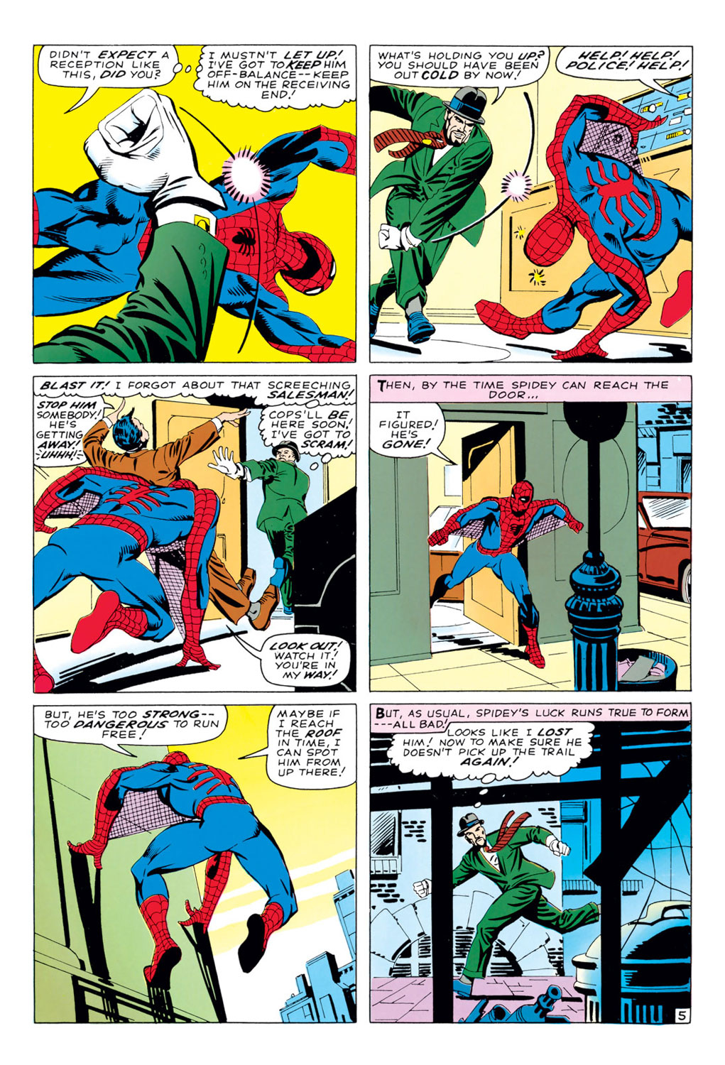 The Amazing Spider-Man (1963) 35 Page 5