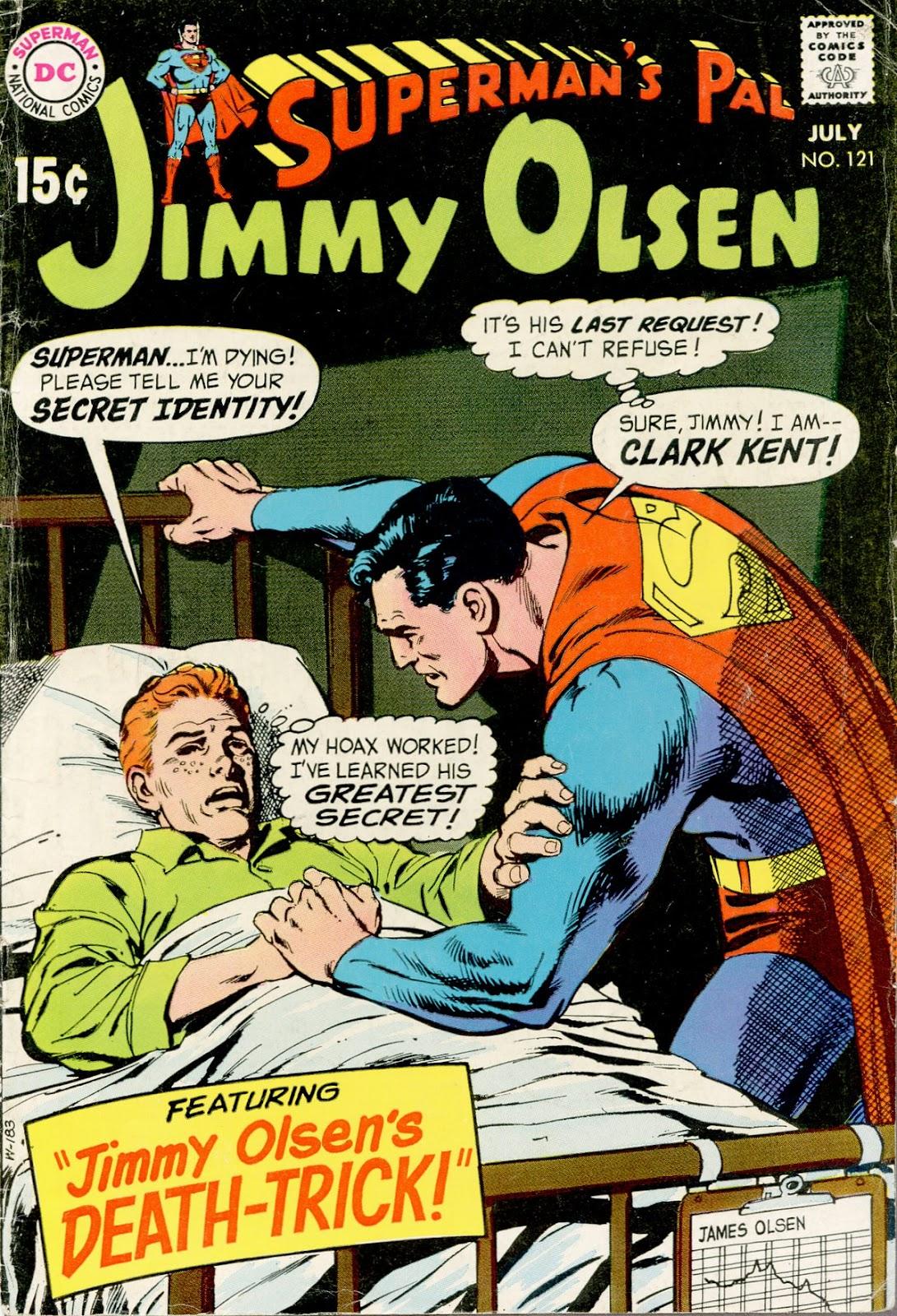 Supermans Pal Jimmy Olsen (1954) 121 Page 1