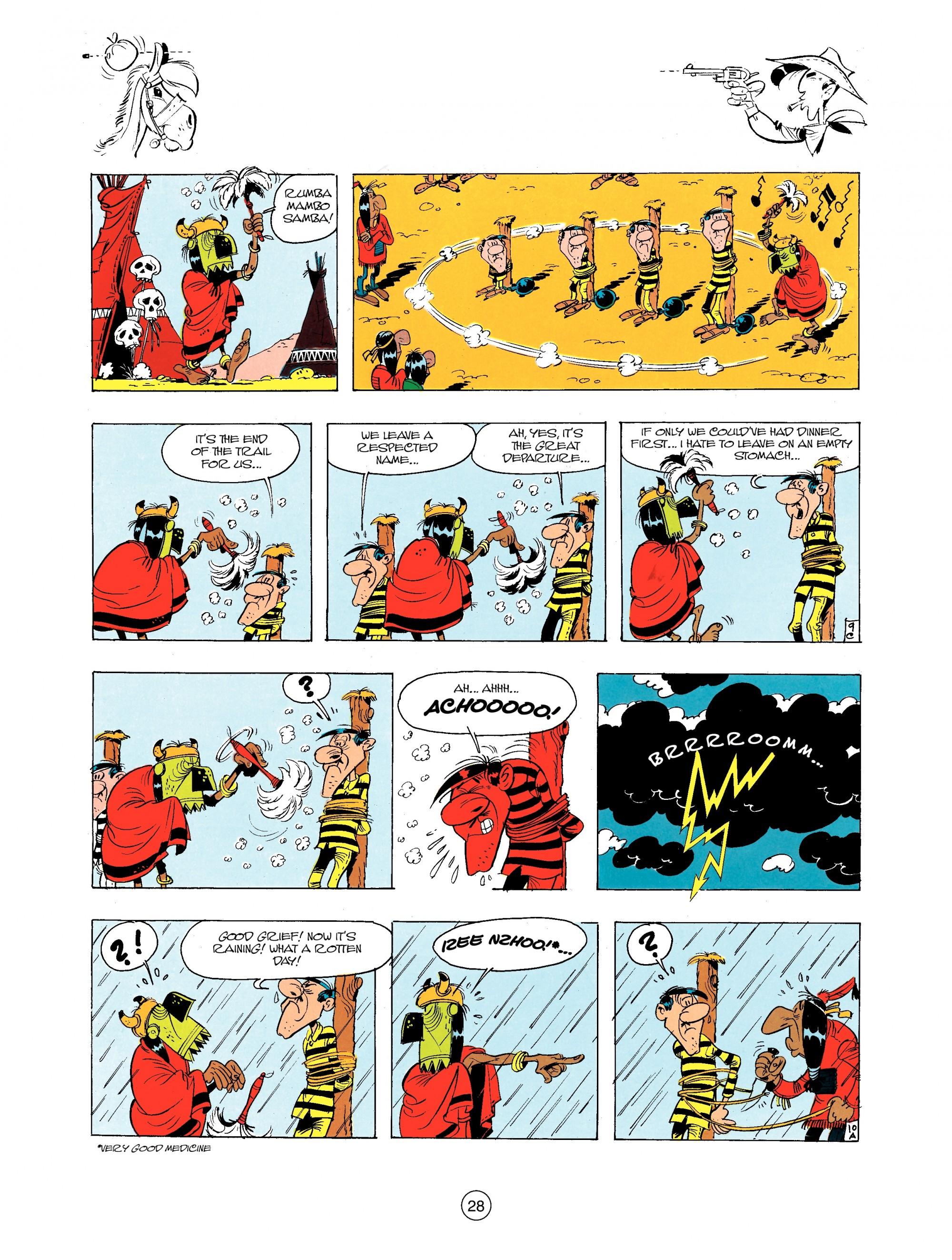 Read online A Lucky Luke Adventure comic -  Issue #34 - 28