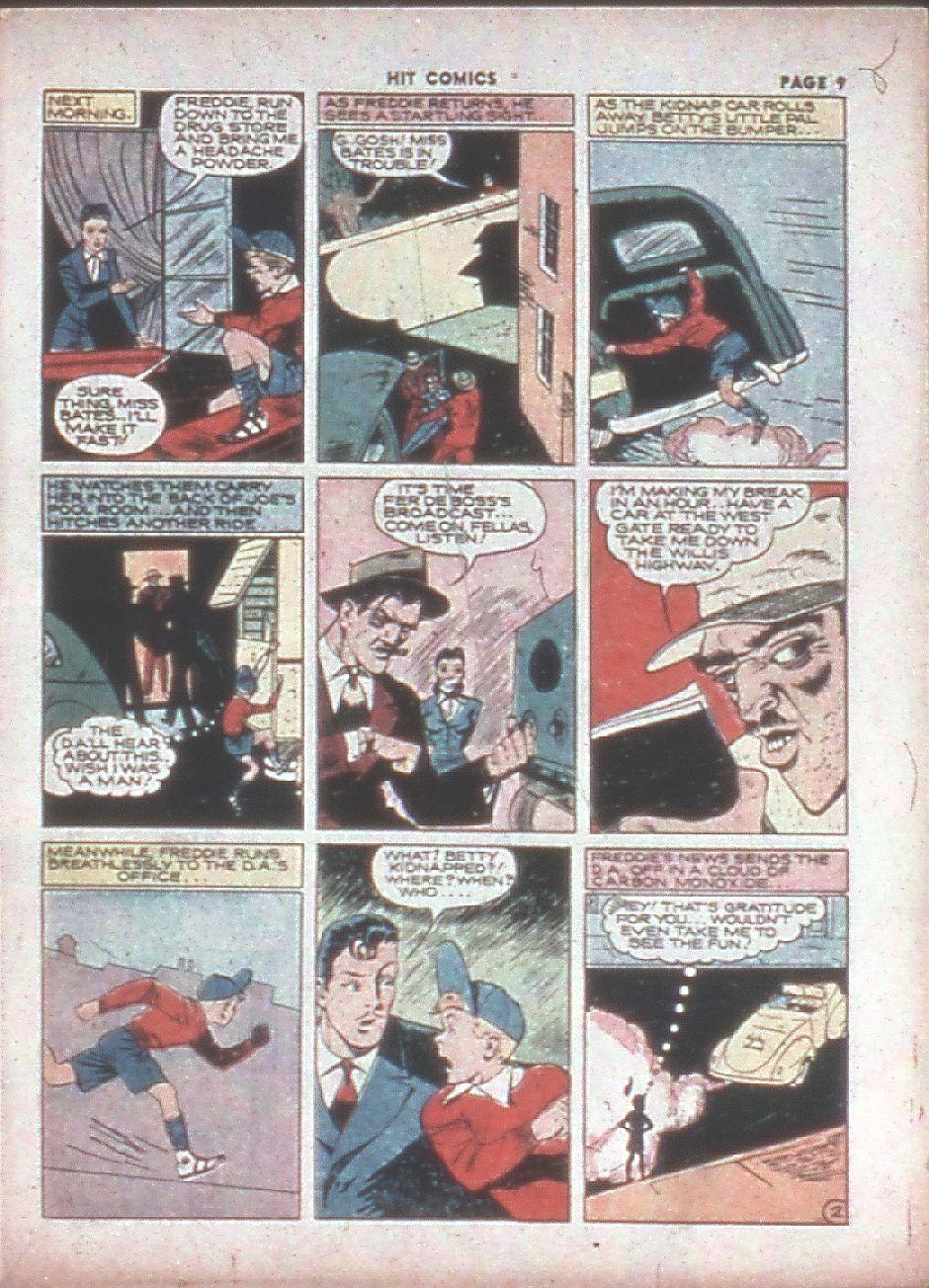 Read online Hit Comics comic -  Issue #8 - 11