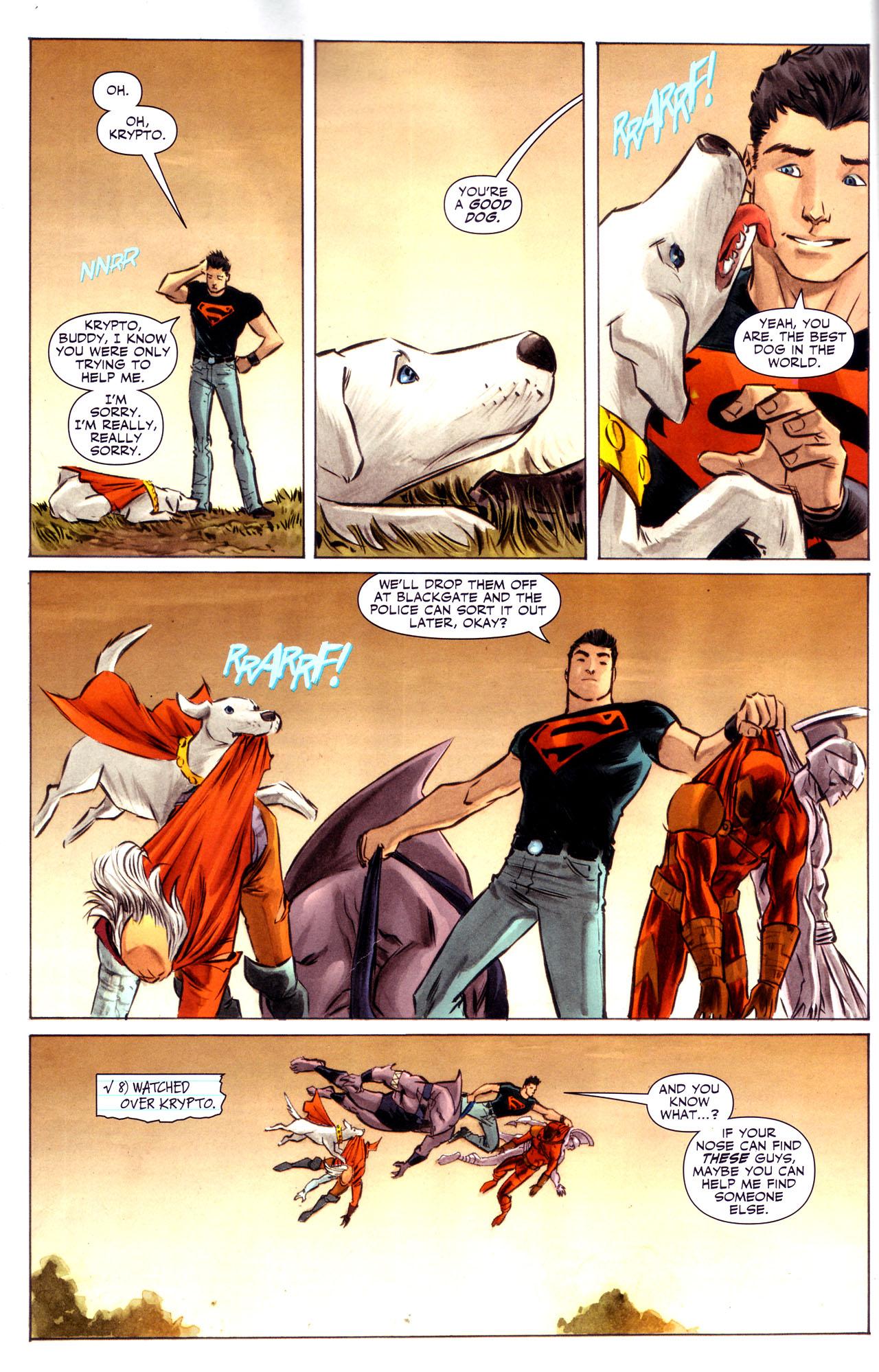 Read online Adventure Comics (2009) comic -  Issue #3 - 9