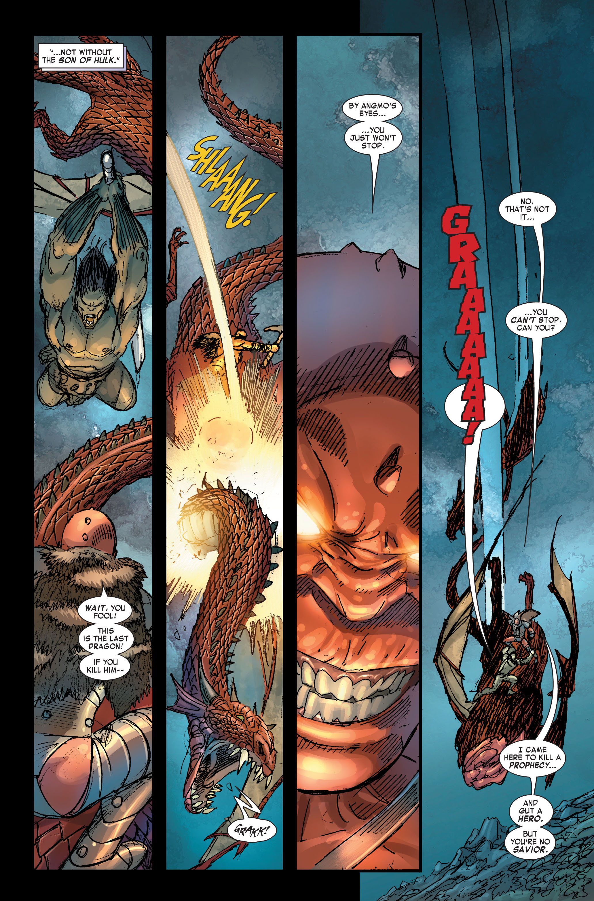 Read online Skaar: Son of Hulk comic -  Issue #2 - 12