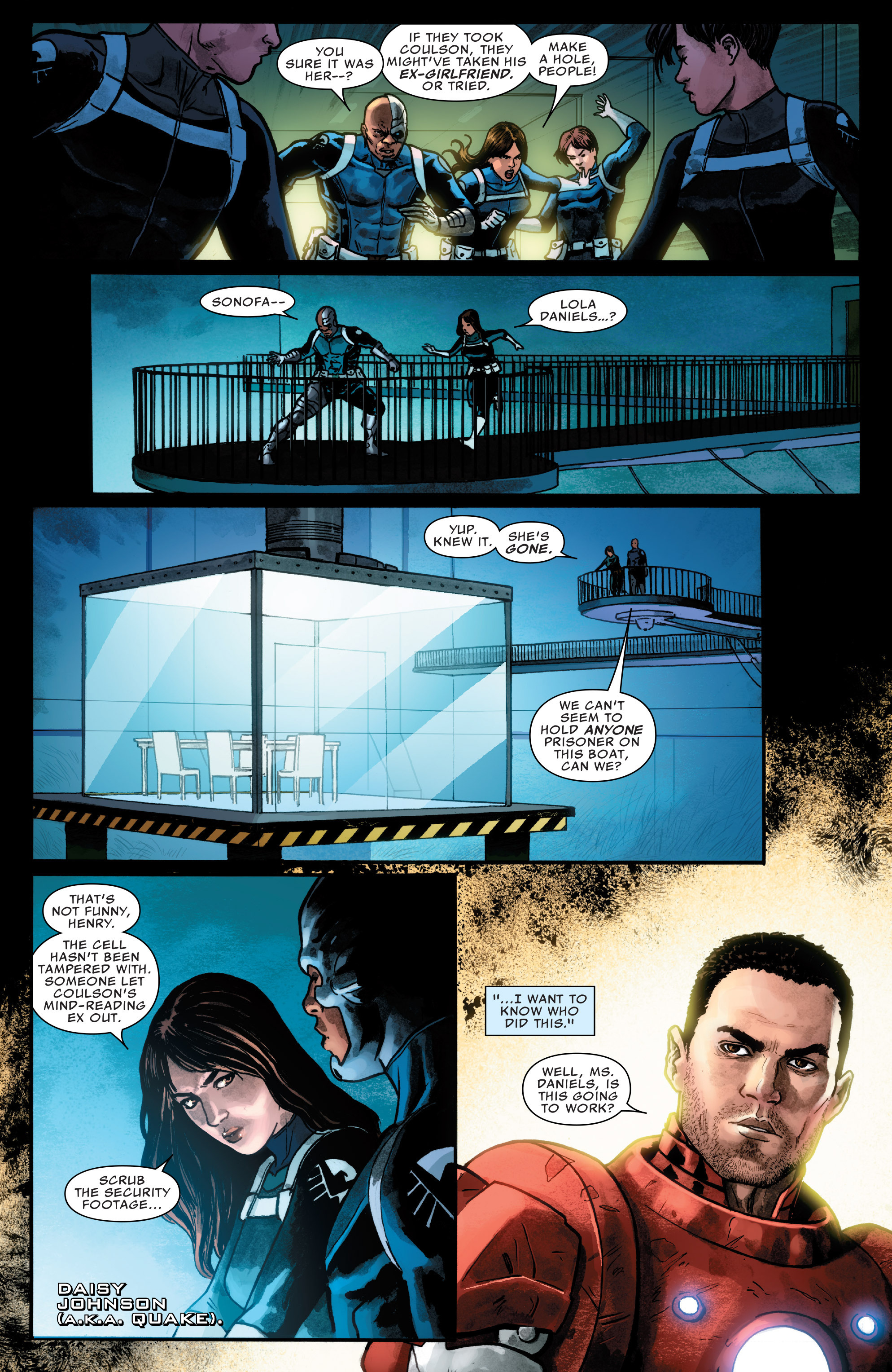 Read online Agents of S.H.I.E.L.D. comic -  Issue #5 - 10