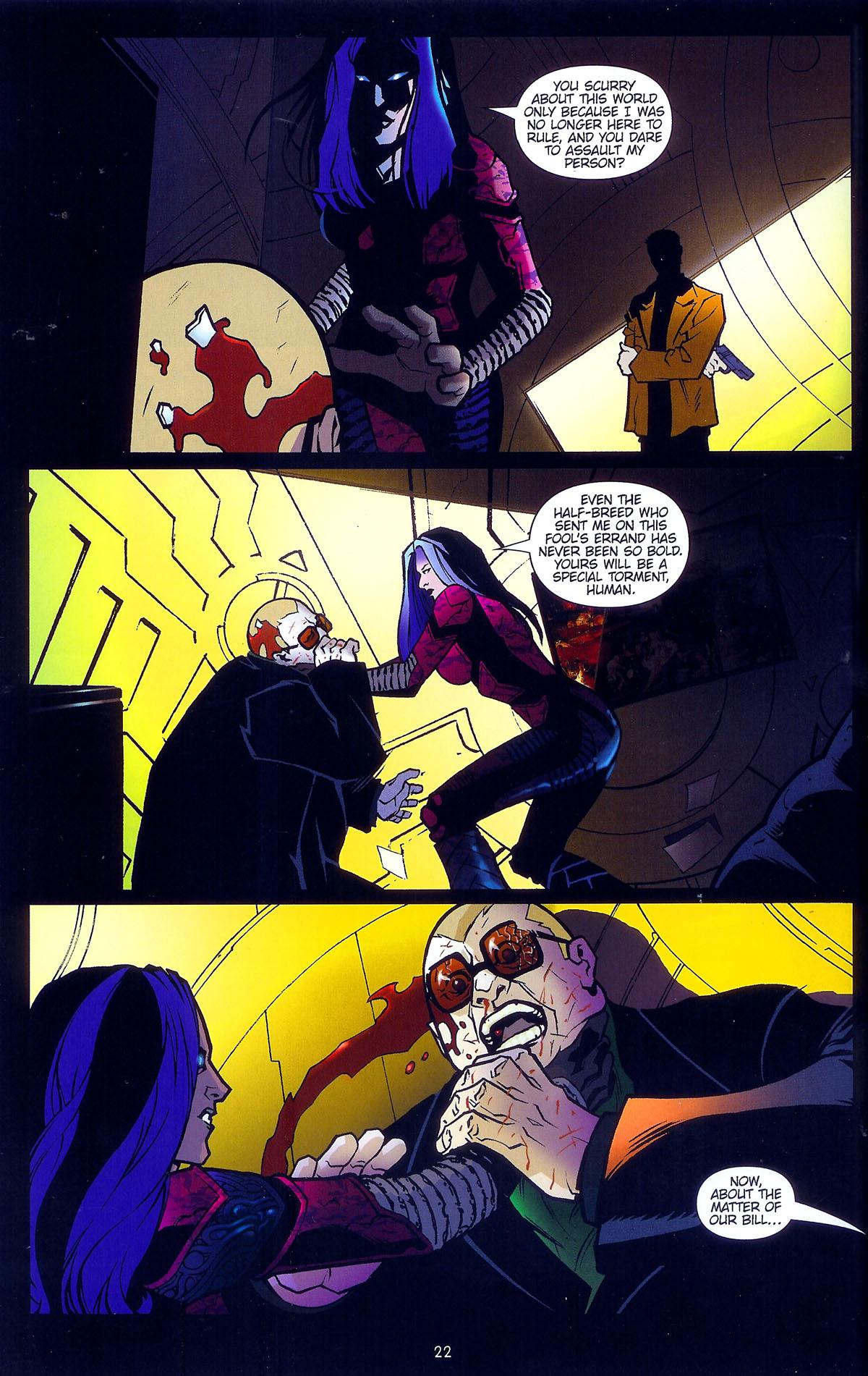 Read online Angel: Masks comic -  Issue # Full - 24