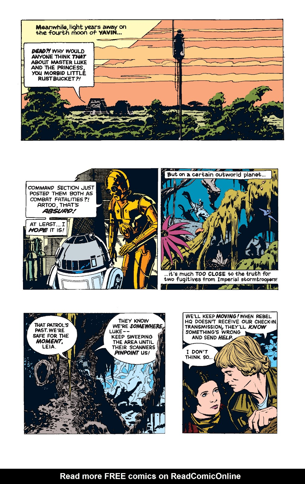 Read online Star Wars Legends: The Newspaper Strips - Epic Collection comic -  Issue # TPB (Part 4) - 87