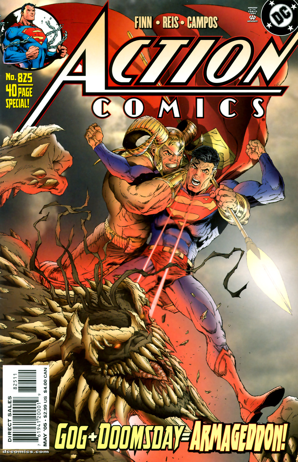 Read online Action Comics (1938) comic -  Issue #825 - 1