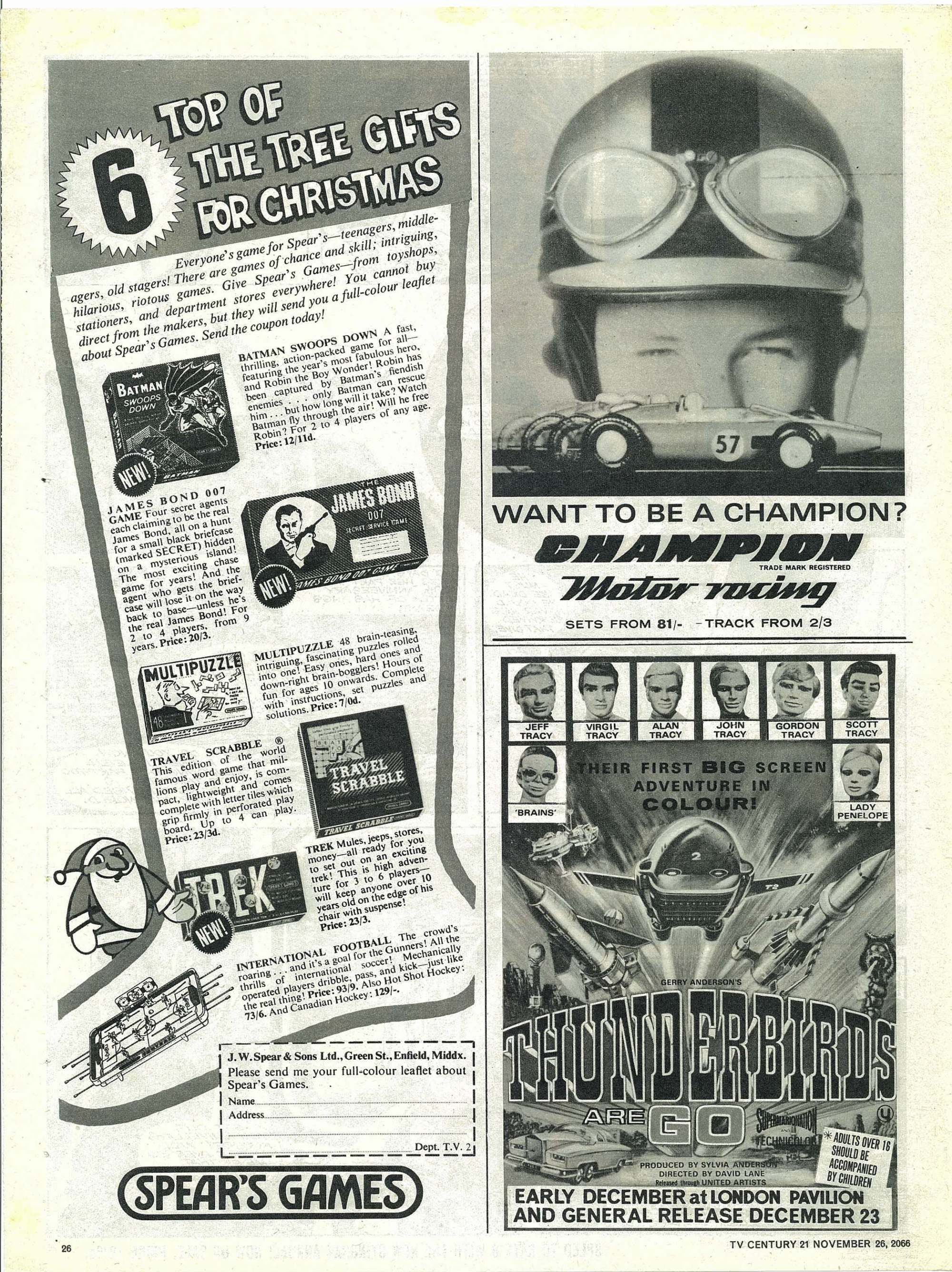Read online TV Century 21 (TV 21) comic -  Issue #97 - 25