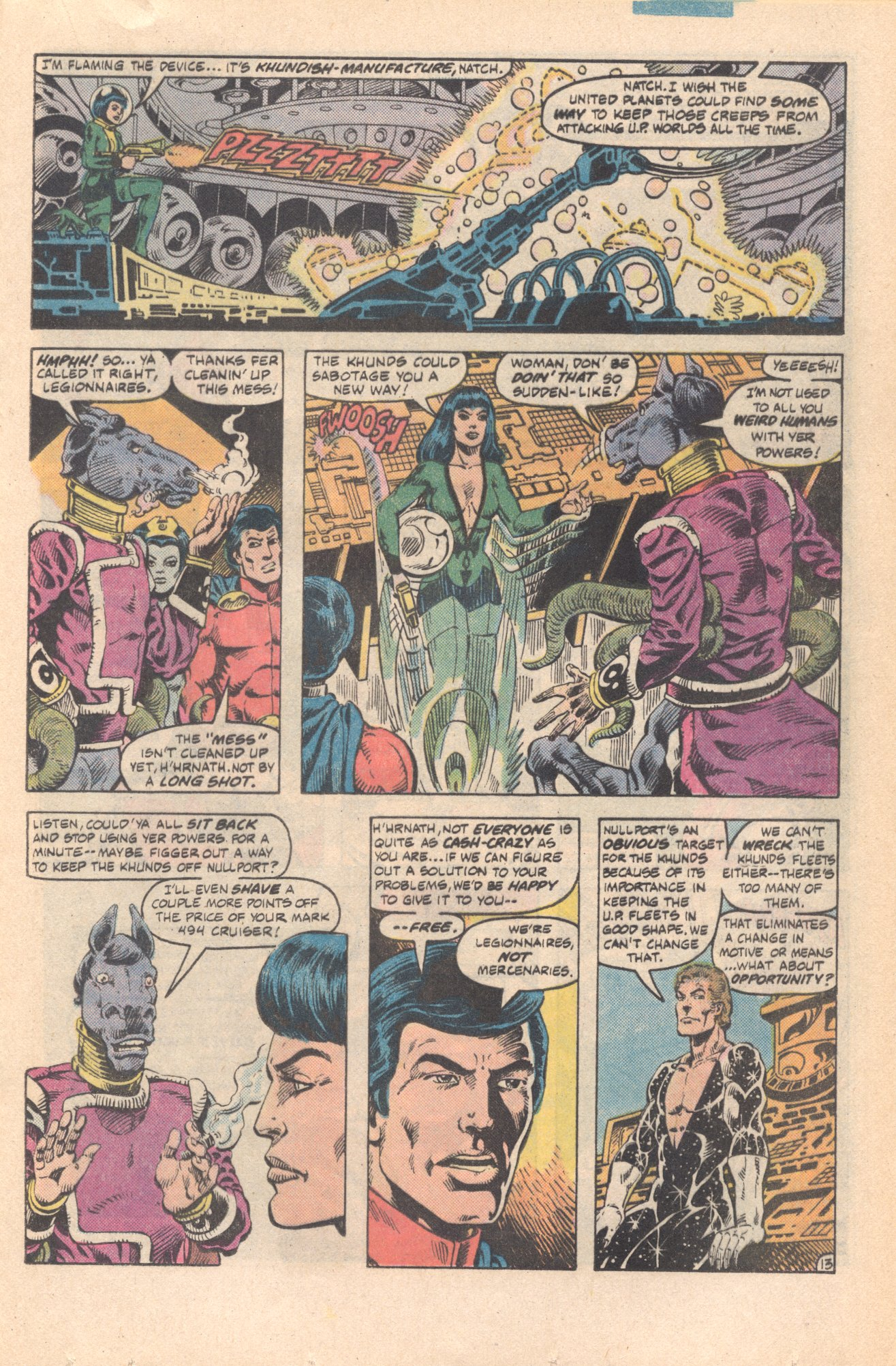 Legion of Super-Heroes (1980) 285 Page 13