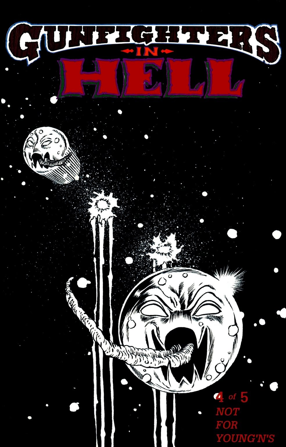 Read online Gunfighters in Hell comic -  Issue #4 - 1