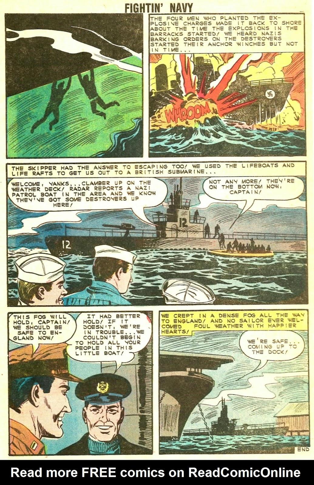 Read online Fightin' Navy comic -  Issue #115 - 8