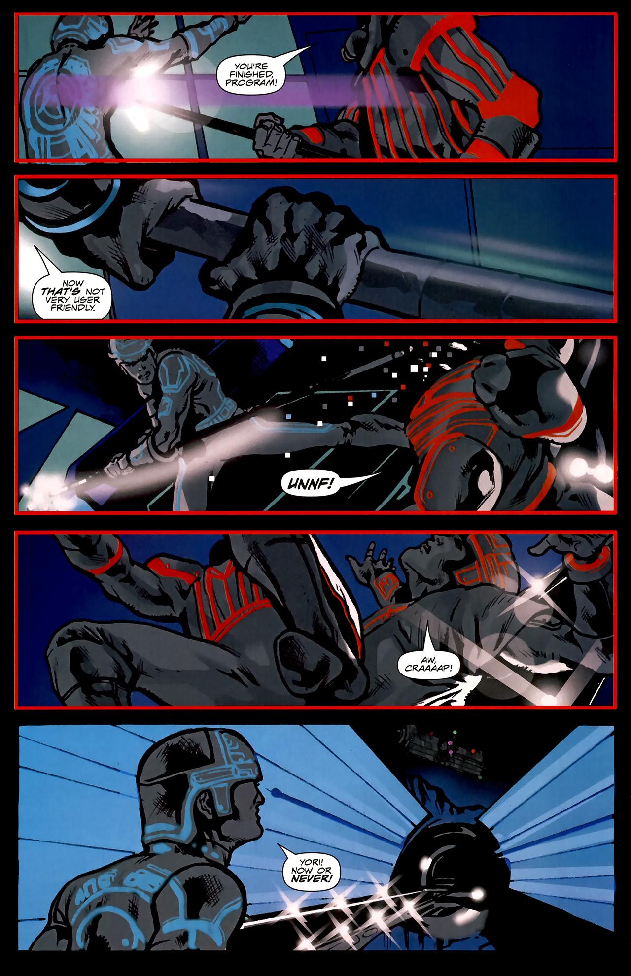 Read online TRON: Original Movie Adaptation comic -  Issue #2 - 20