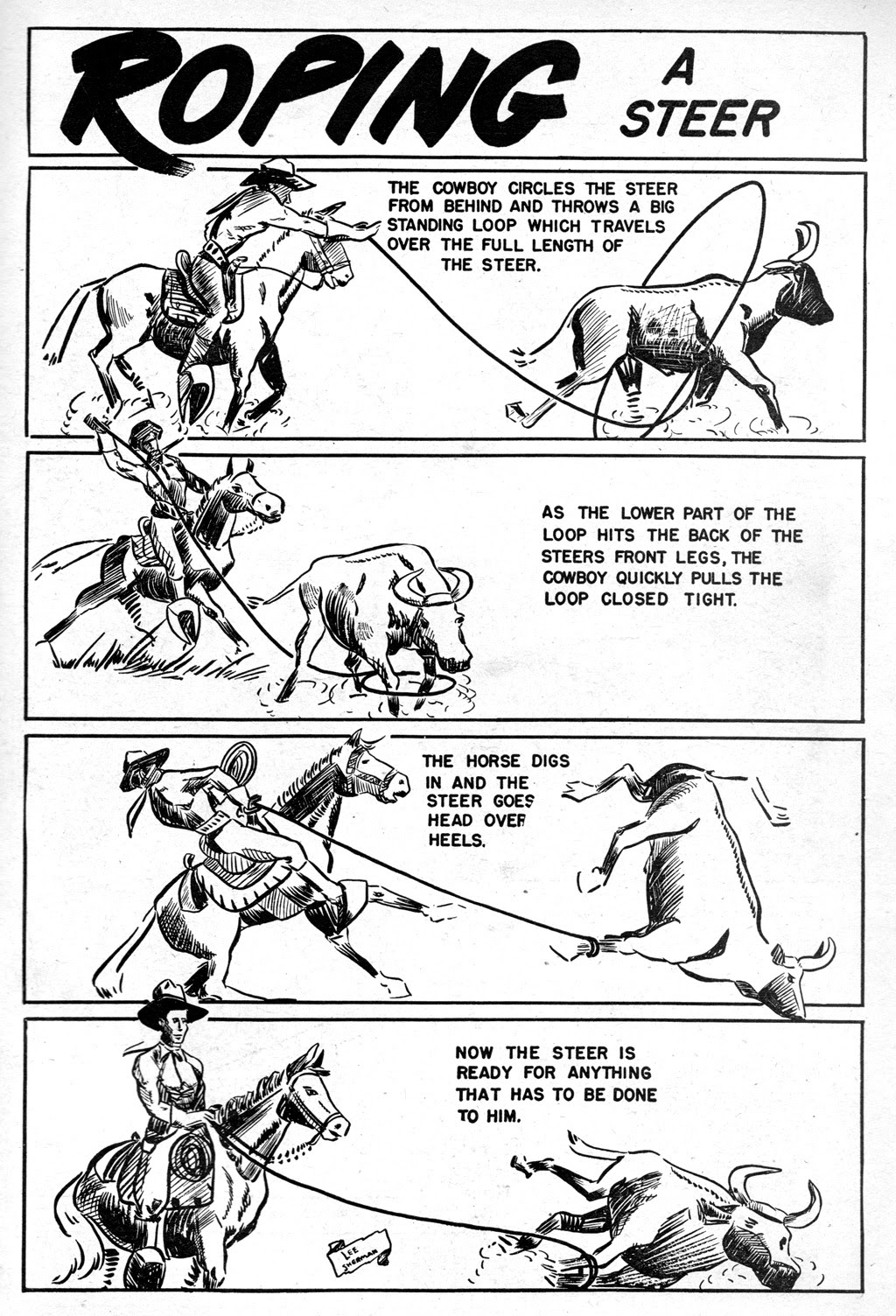 Cowboy Western Comics (1948) issue 18 - Page 35
