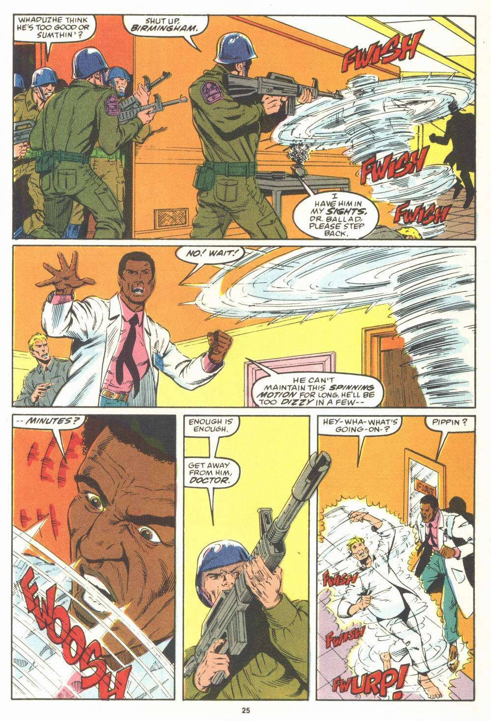 Read online Justice (1986) comic -  Issue #23 - 27
