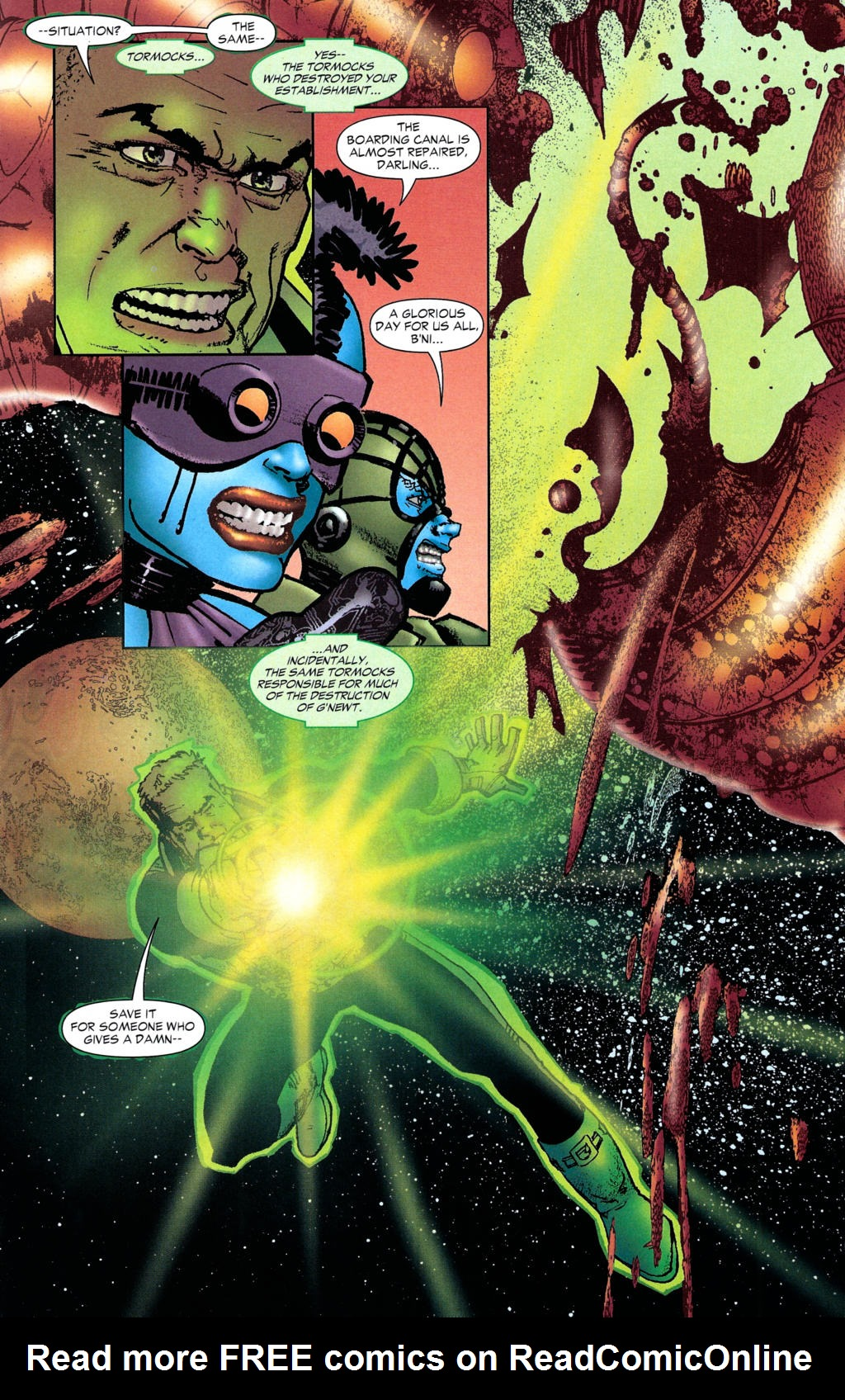 Read online Guy Gardner: Collateral Damage comic -  Issue #2 - 25