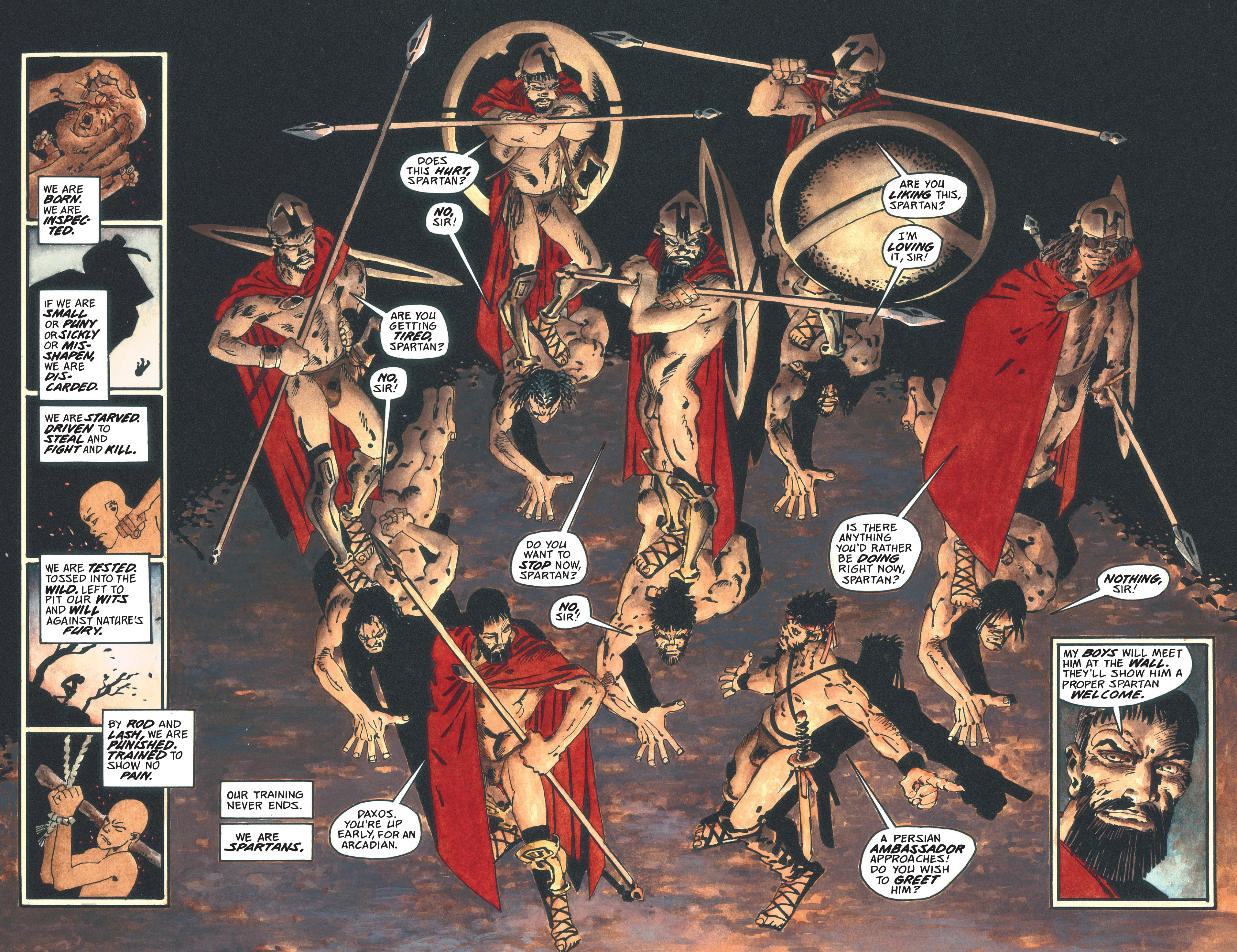 Read online 300 comic -  Issue #300 TPB - 36