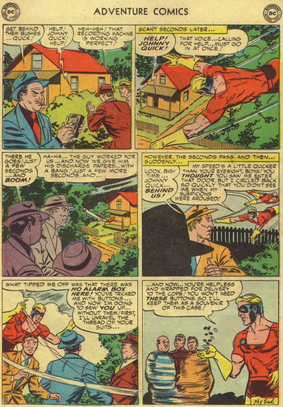 Read online Adventure Comics (1938) comic -  Issue #167 - 32