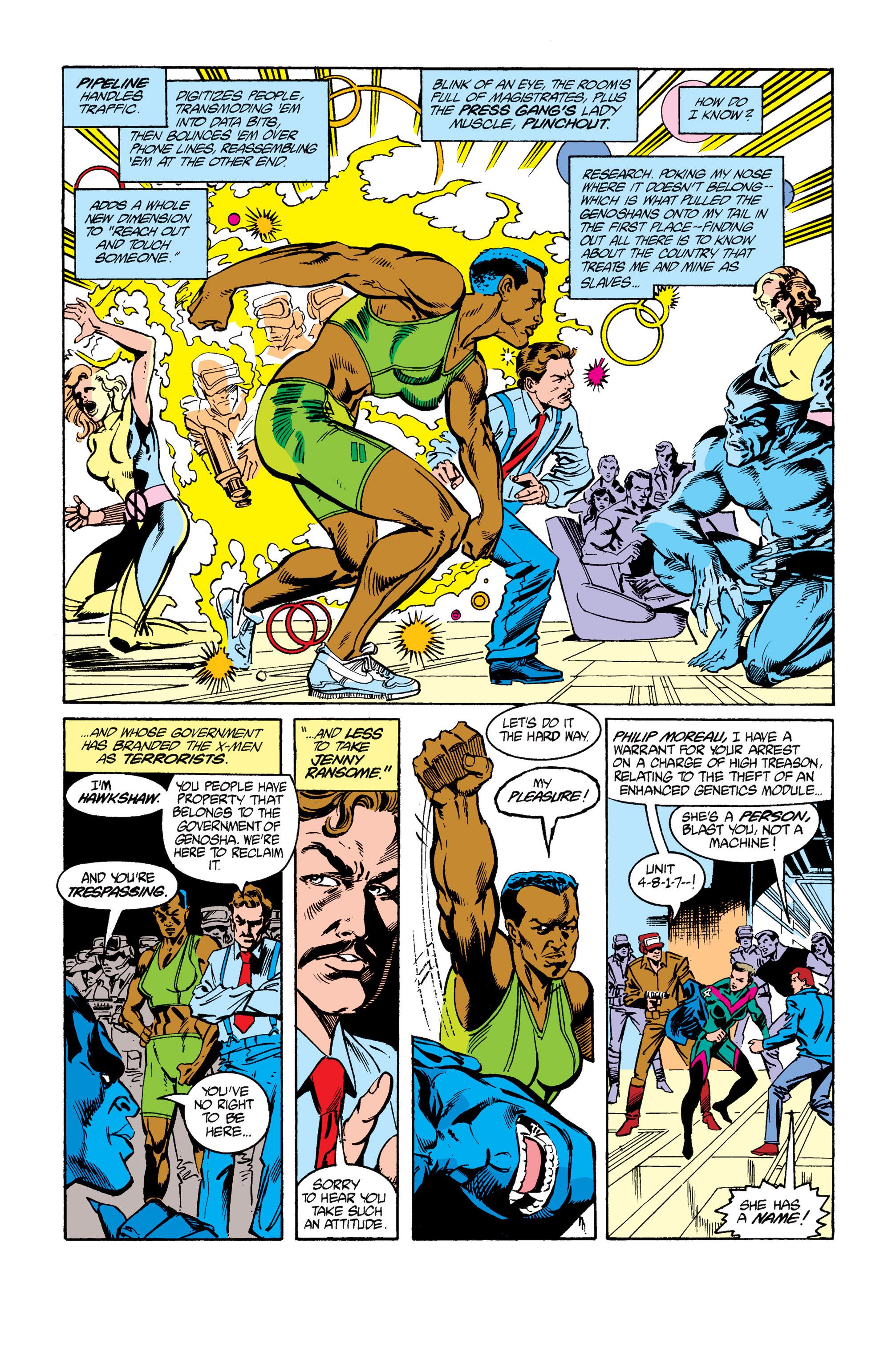 Read online Uncanny X-Men (1963) comic -  Issue #264 - 17