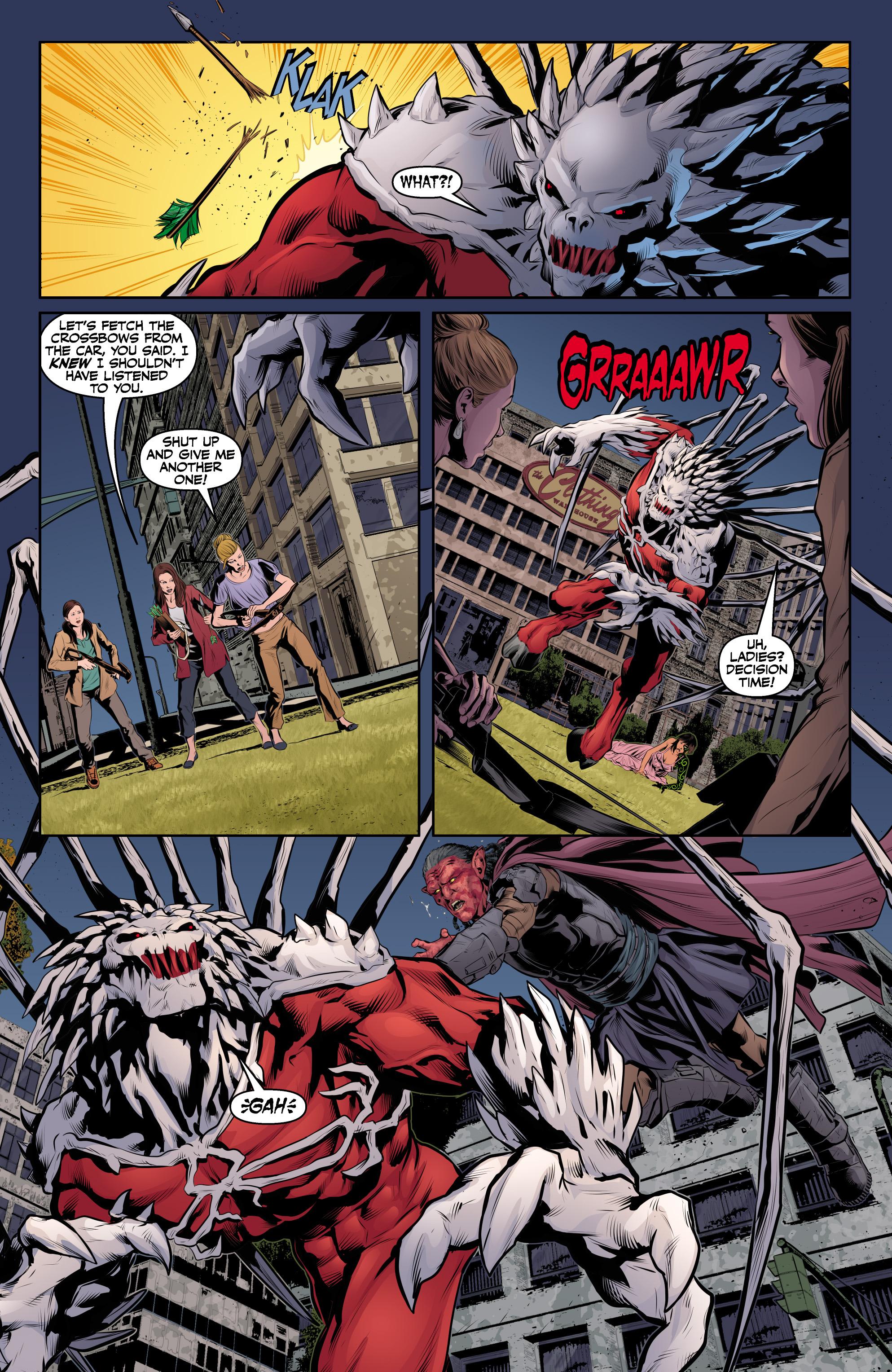 Read online Angel & Faith Season 10 comic -  Issue #24 - 20