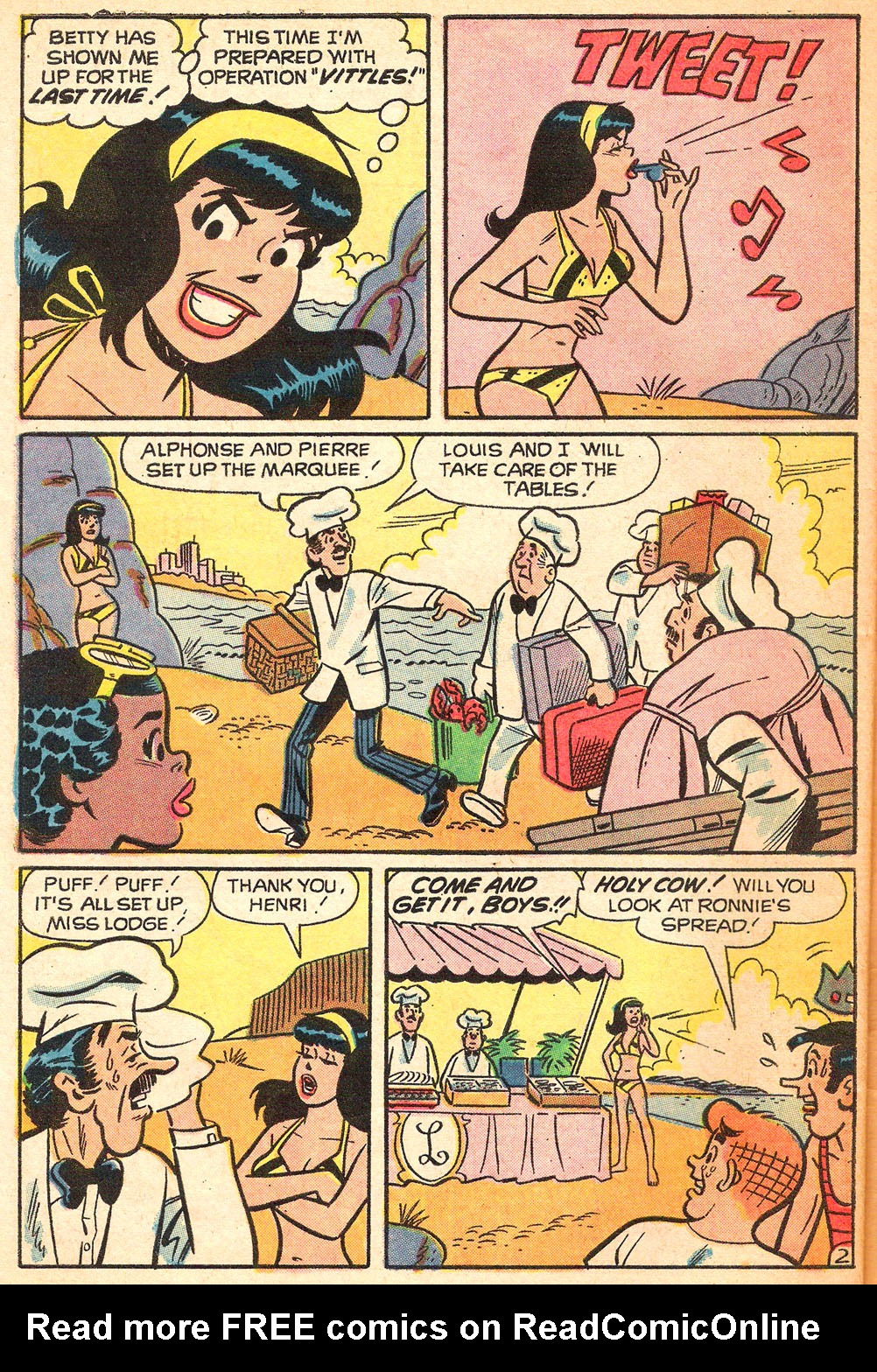 Read online Archie's Girls Betty and Veronica comic -  Issue #213 - 30
