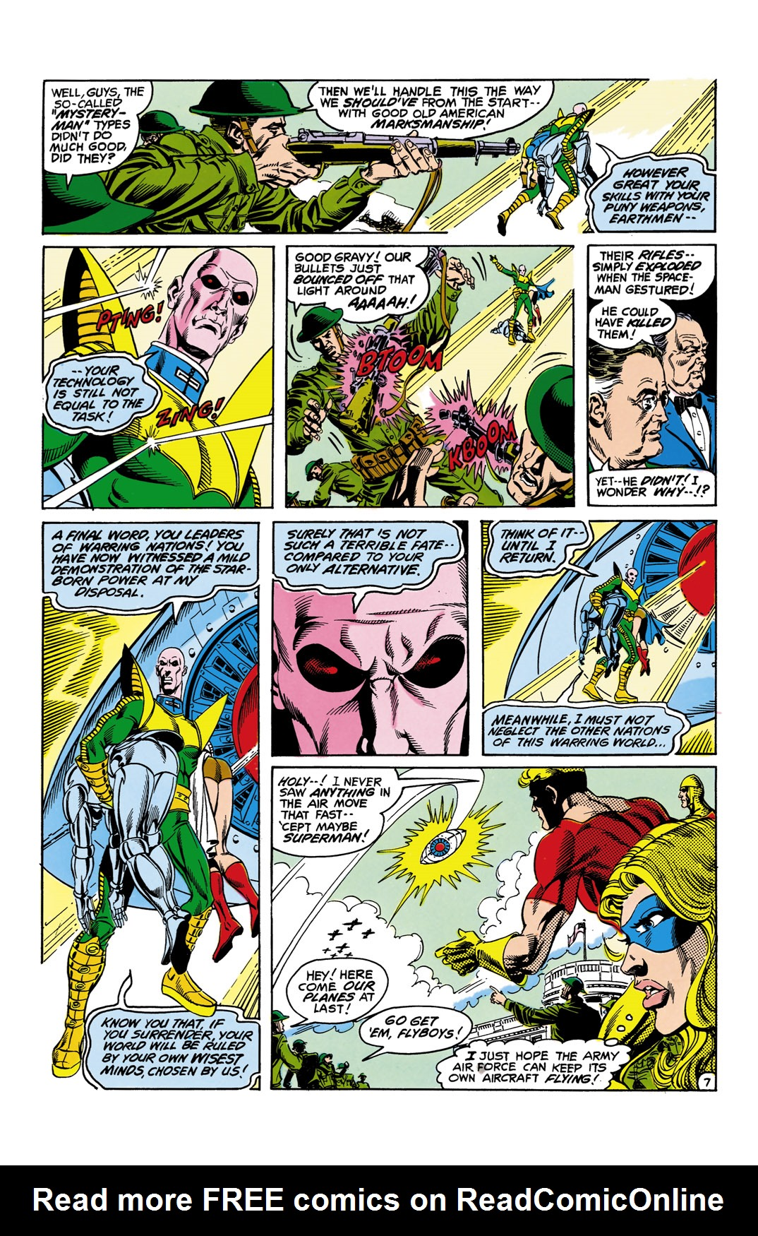 Read online All-Star Squadron comic -  Issue #11 - 8