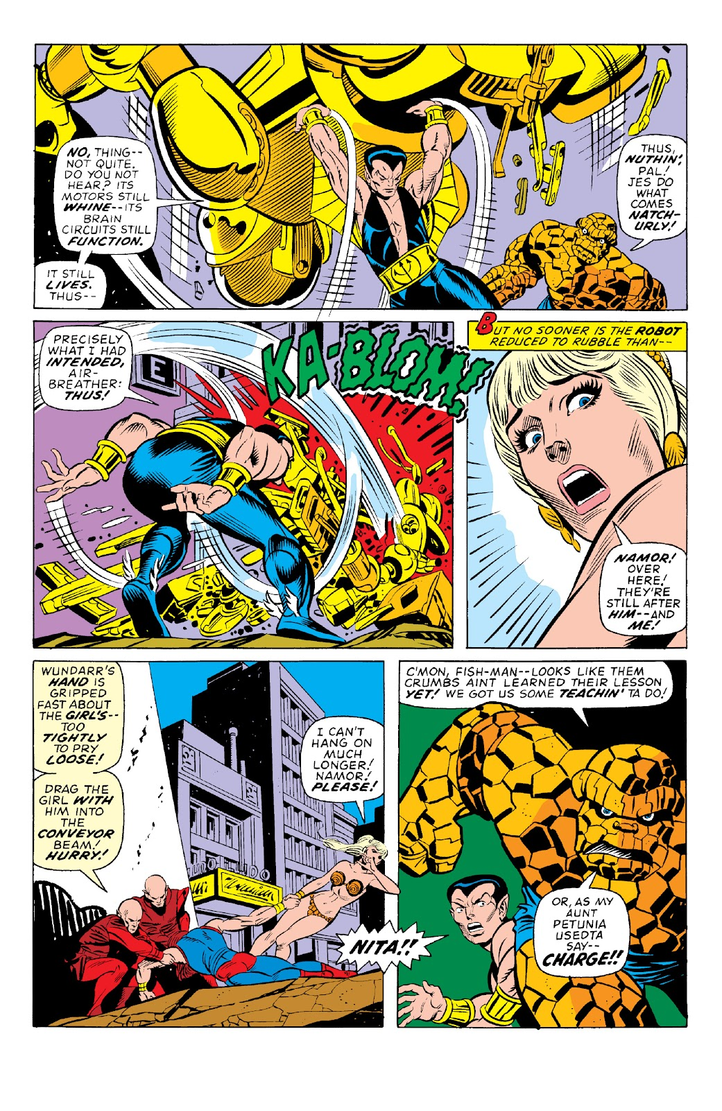 Read online Marvel Two-In-One Epic Collection: Cry Monster comic -  Issue # TPB (Part 1) - 83