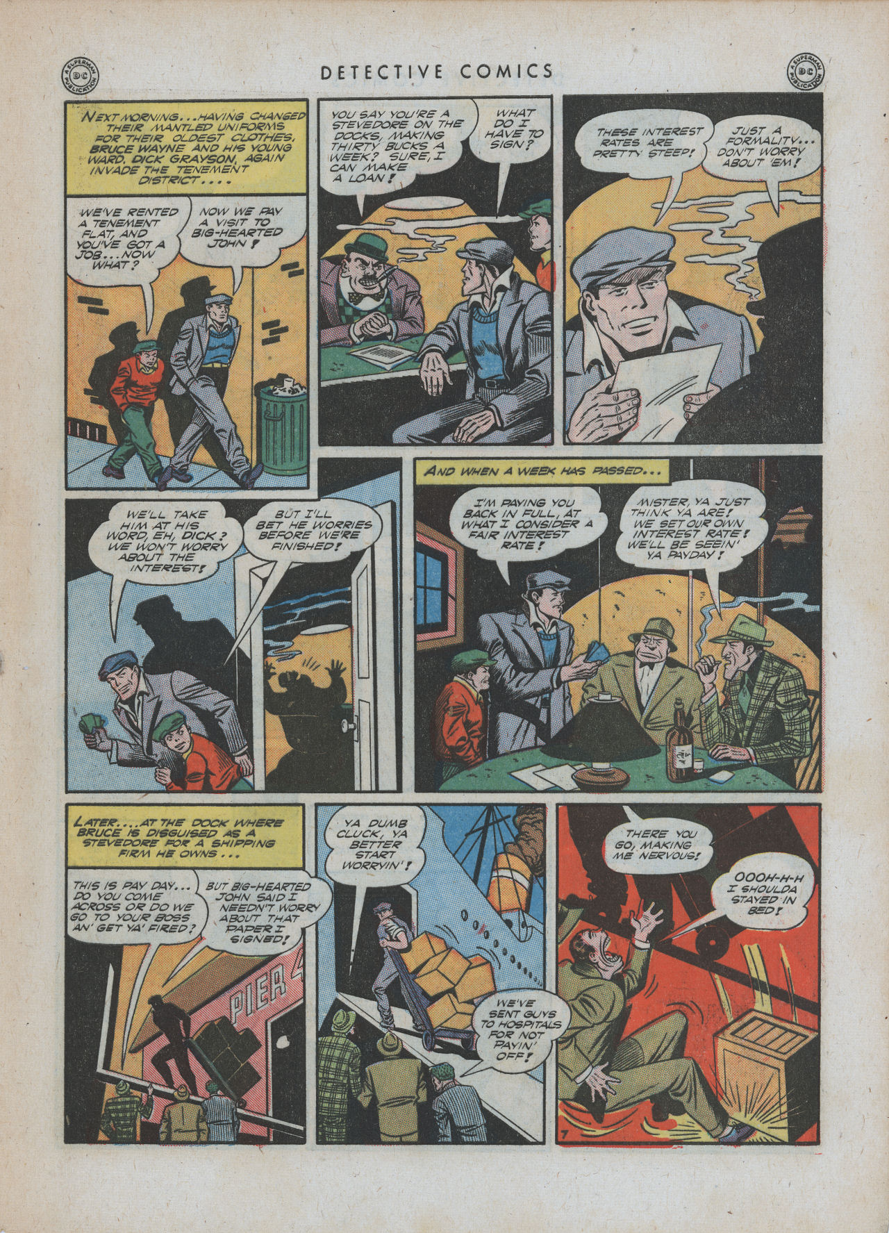 Read online Detective Comics (1937) comic -  Issue #88 - 9