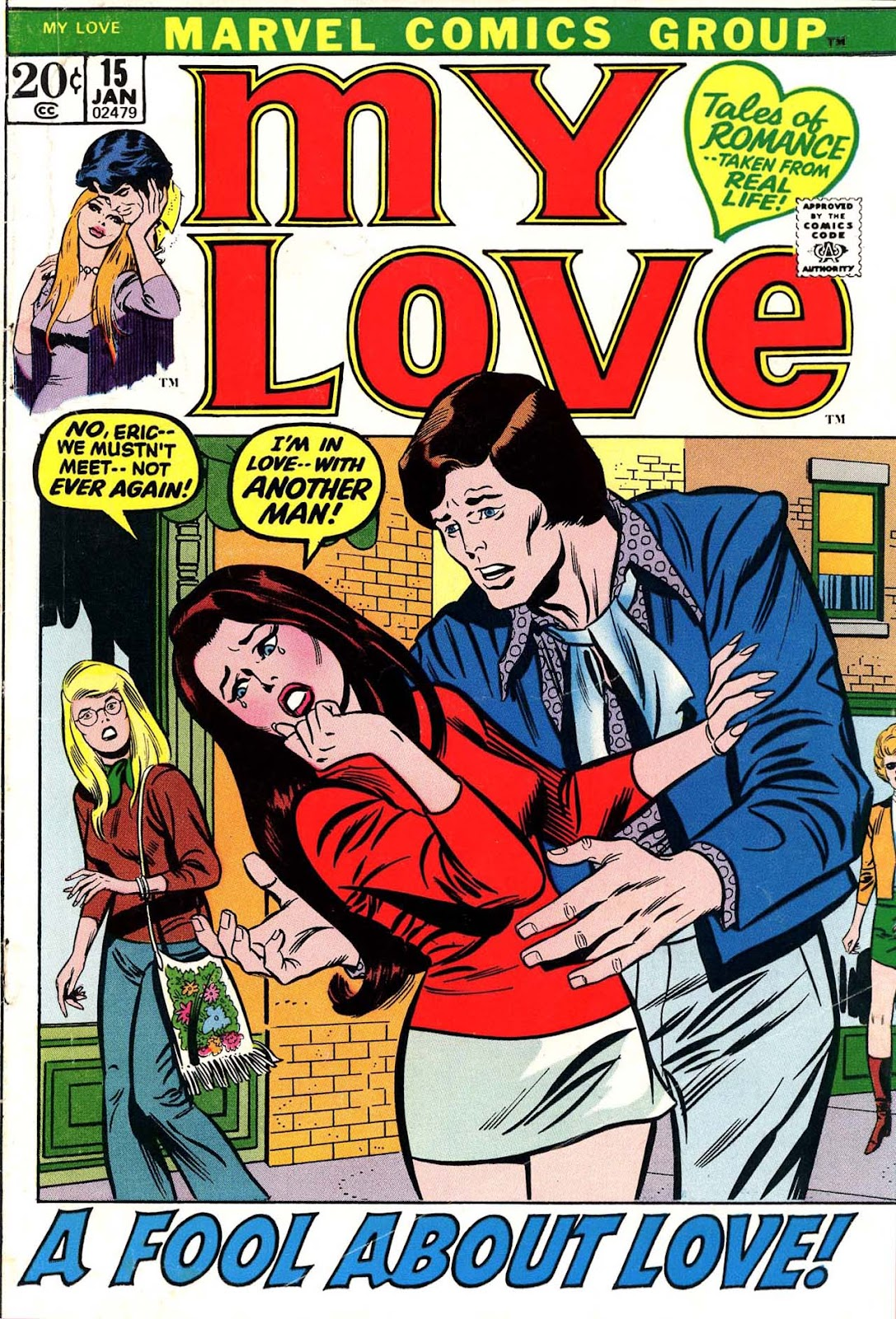 My Love (1969) issue 15 - Page 1