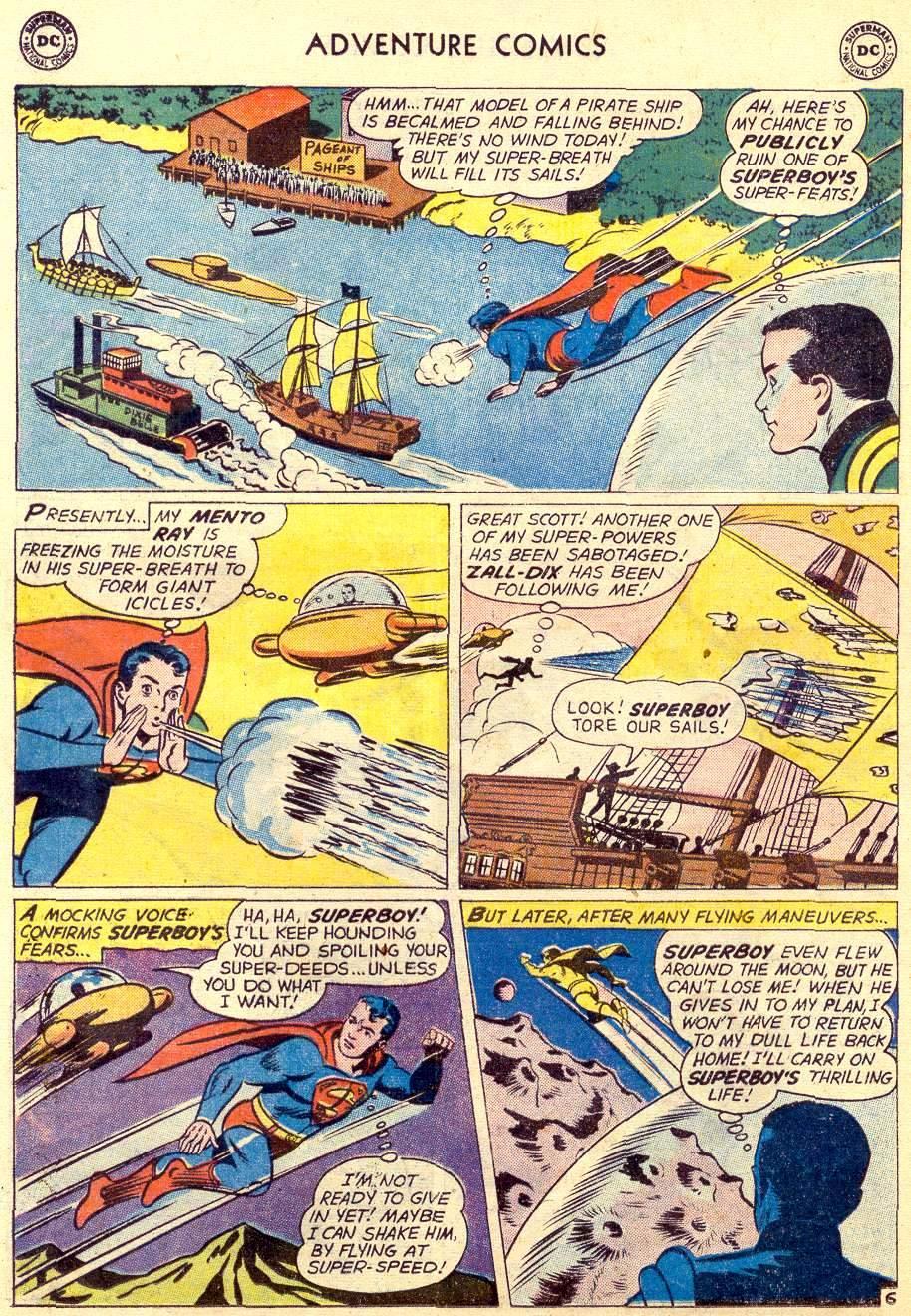Read online Adventure Comics (1938) comic -  Issue #264 - 8